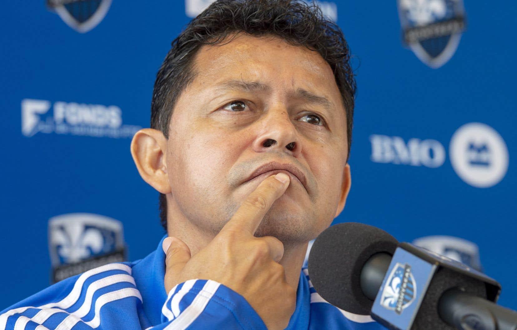 Le nouvel entraîneur-chef de l'Impact, Wilmur Cabrera