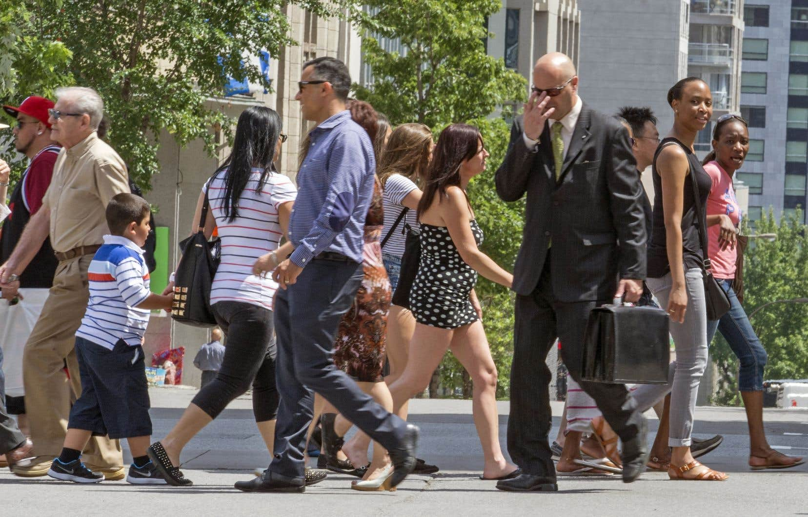 Au total, le Québec a reçu de janvier à juin derniers 18200 immigrants, comparativement à 24480 lors des six premiers mois de l'an dernier.