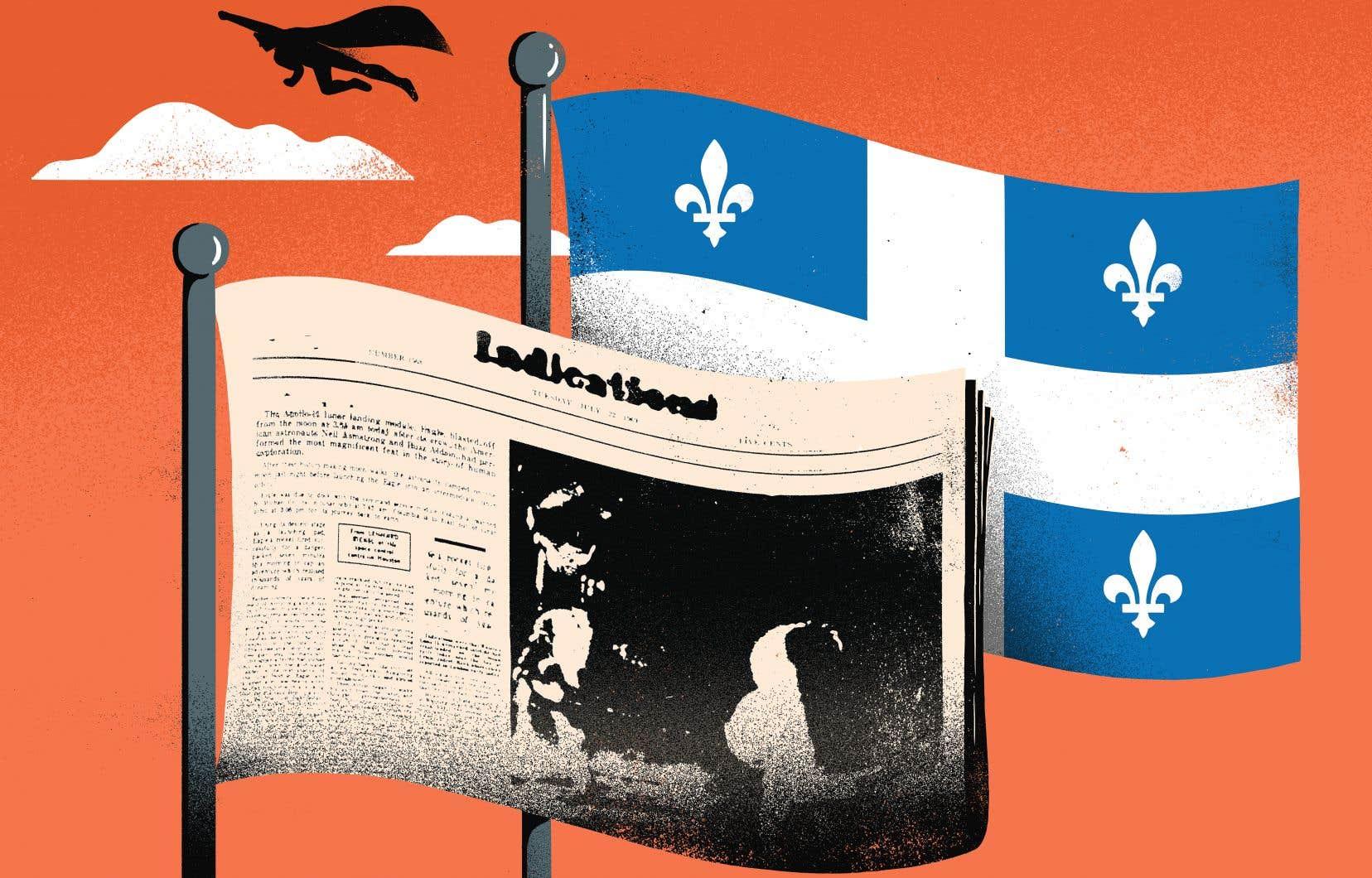 Au Québec, les journaux se sont comptés par milliers. Les archives nationales en ont répertorié au moins 3300 différents en à peine 250ans.