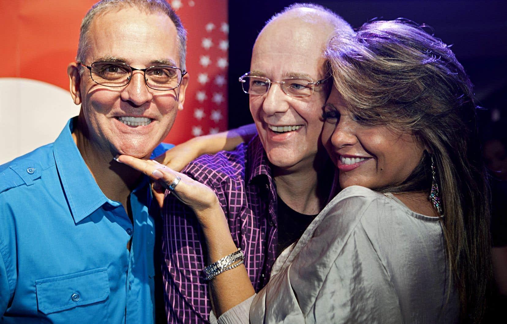 Denis Talbot, Claude Rajotte et Sonia Benezra ont été des animateurs marquants pour la chaîne MusiquePlus.