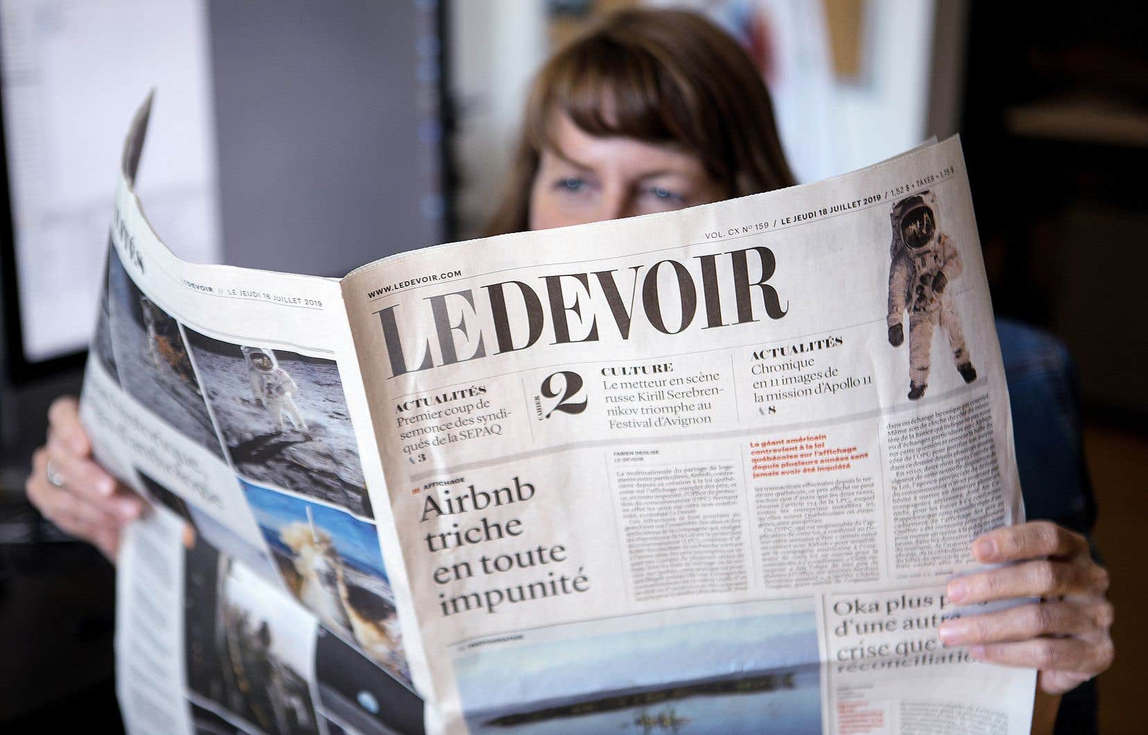 Unique en son genre au Québec du fait de son indépendance, «Le Devoir» mise sur l'abonnement, sur la philanthropie et sur les revenus publicitaires pour rentabiliser ses opérations.