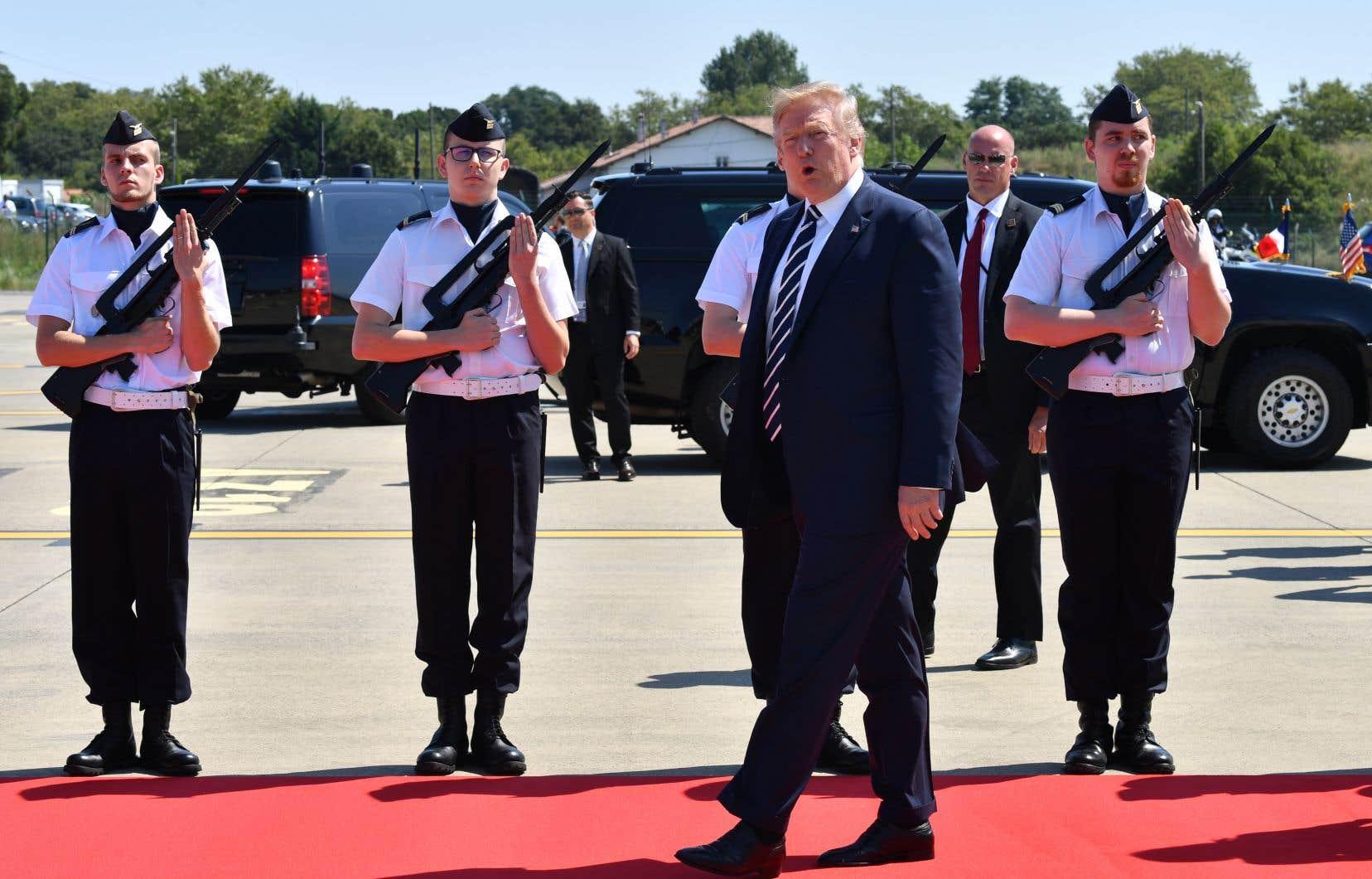 Donald Trump à Biarritz