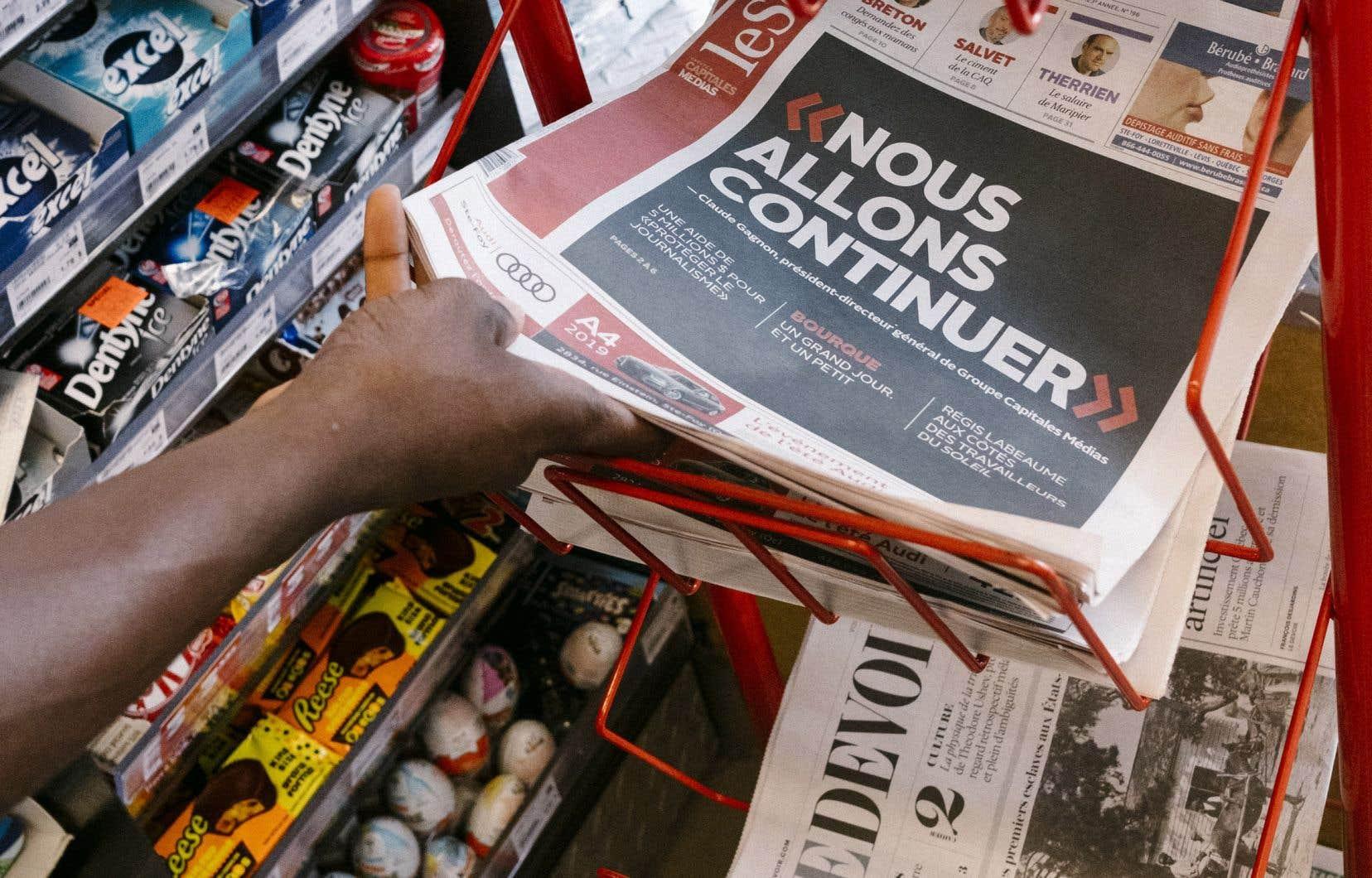 «Dans la foulée de la crise financière du Groupe Capitales Médias et devant l'urgence de la situation, certaines voix se sont élevées pour suggérer que toute aide financière gouvernementale à un média devrait être conditionnelle à une adhésion au Conseil de presse», souligne l'auteure.