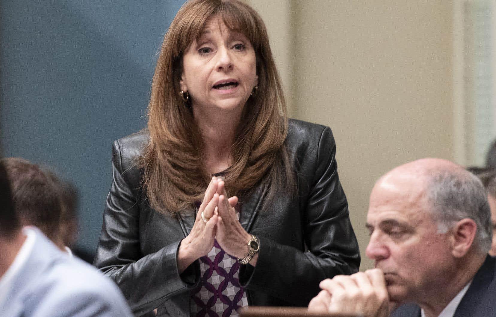 La ministre de la Culture et des Communications, Nathalie Roy, a dit se «réjouir» du début des travaux.