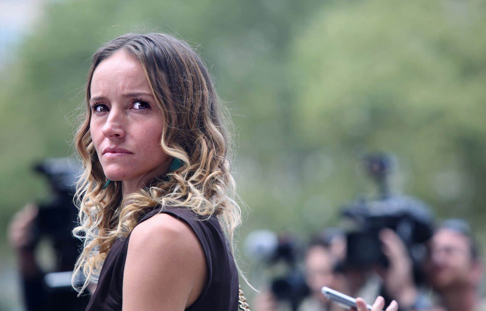 Plusieurs des victimes du financier, dont fait partie Teala Davies, se sont décrites lors de leur audience comme des survivantes.