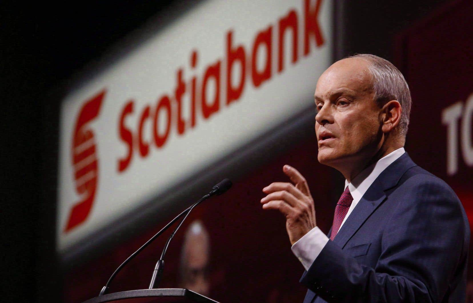 Brian Porter,chef de la direction de la Banque Scotia