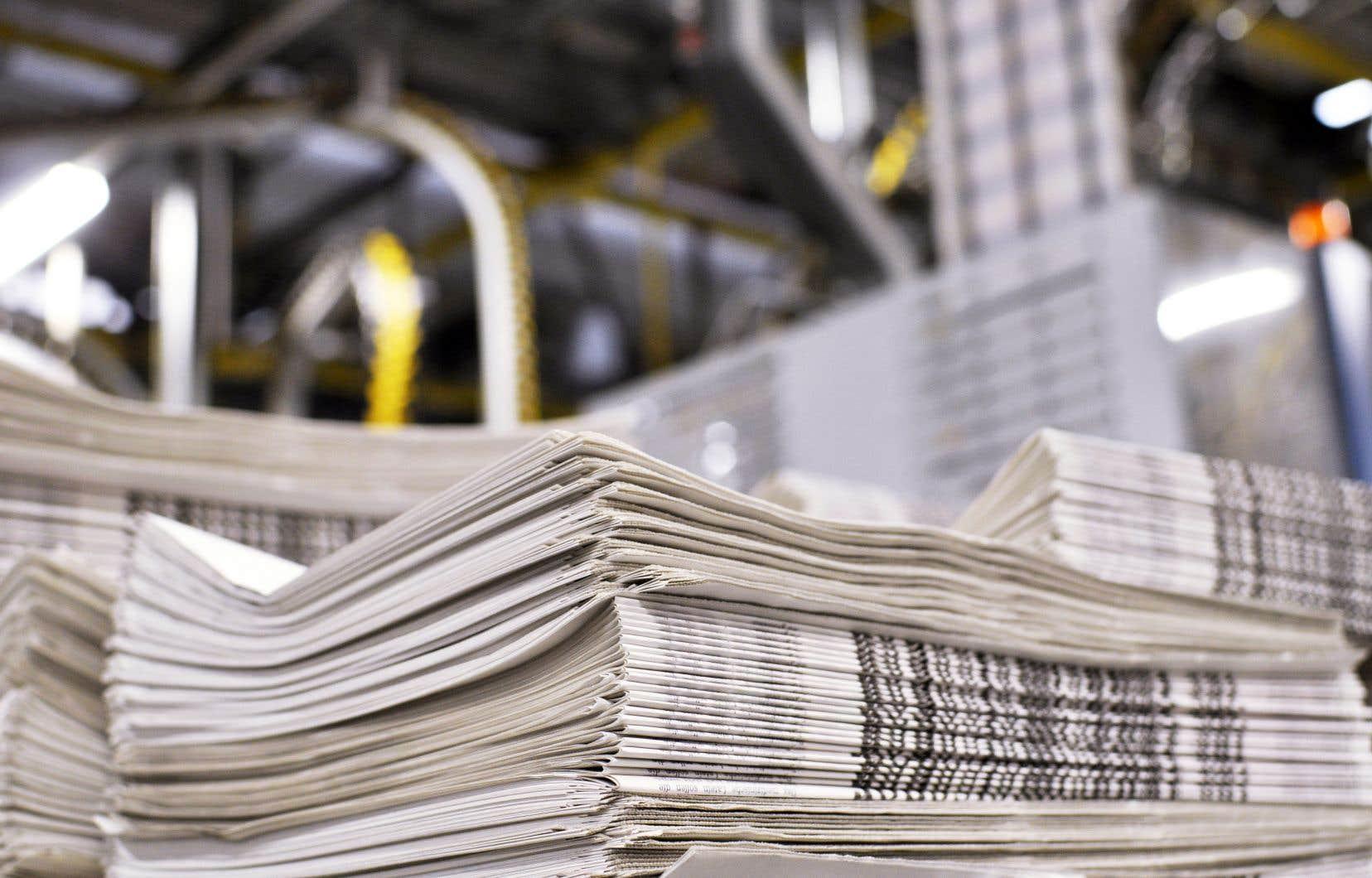 «Le paysage médiatique québécois s'est considérablement transformé, nous dit l'étude de Colette Brin et Anne-Marie Brunelle, à la fois par le nombre de médias en activité que par les principaux groupes médiatiques en présence», et la presse écrite a été, et de loin, la plus touchée.