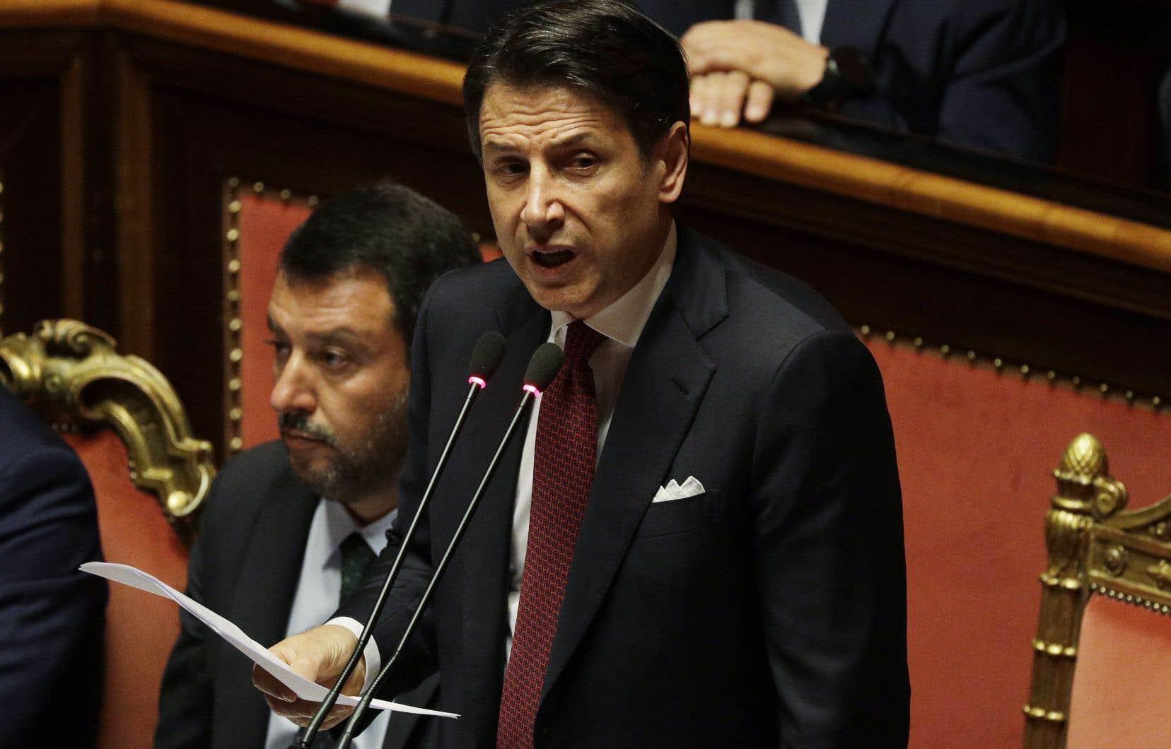 Le nouvel exécutif sera de nouveau dirigé par le premier ministre sortant, Giuseppe Conte.