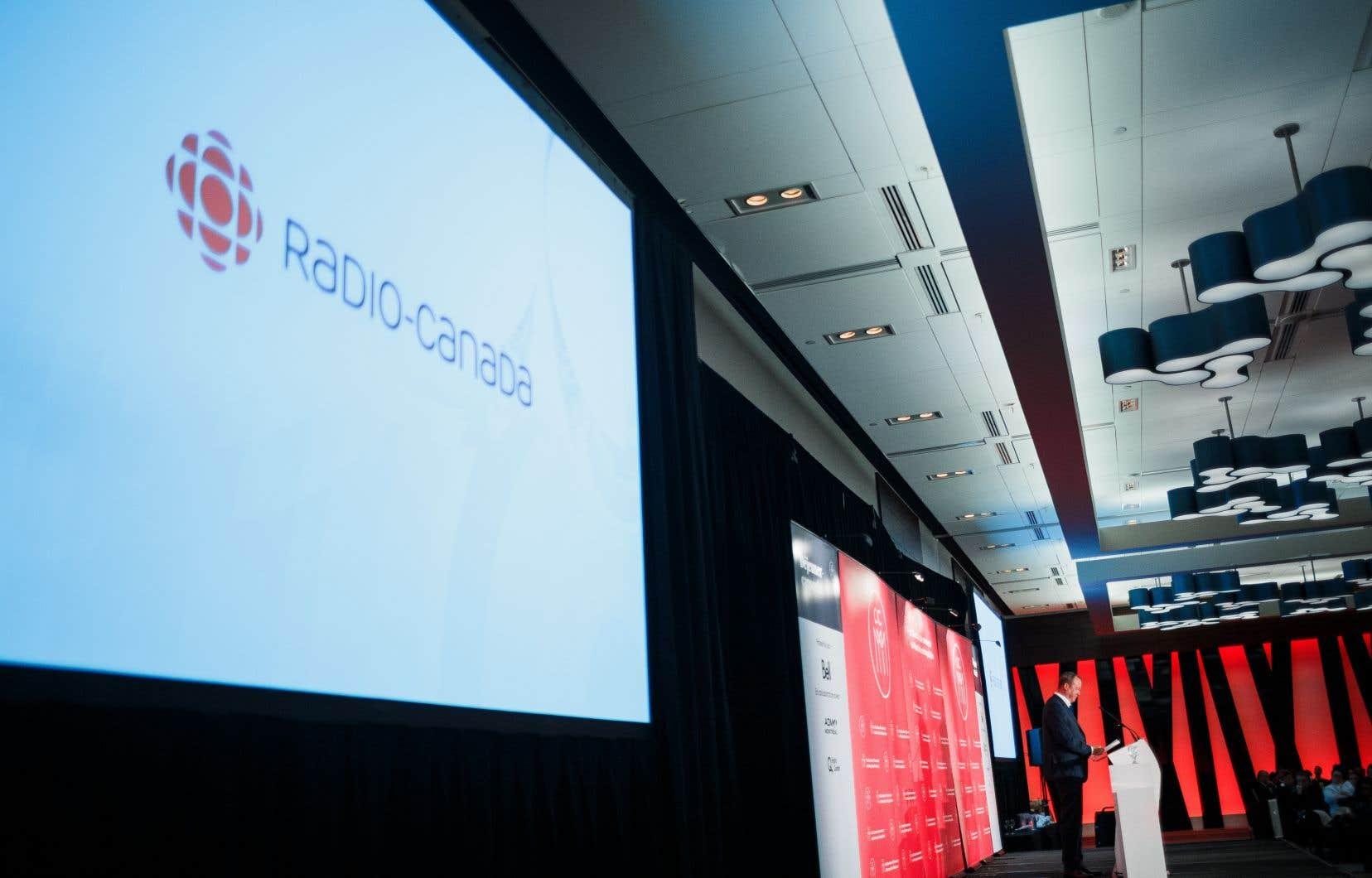Le vice-président principal des services français de CBC/Radio-Canada, Michel Bissonnette