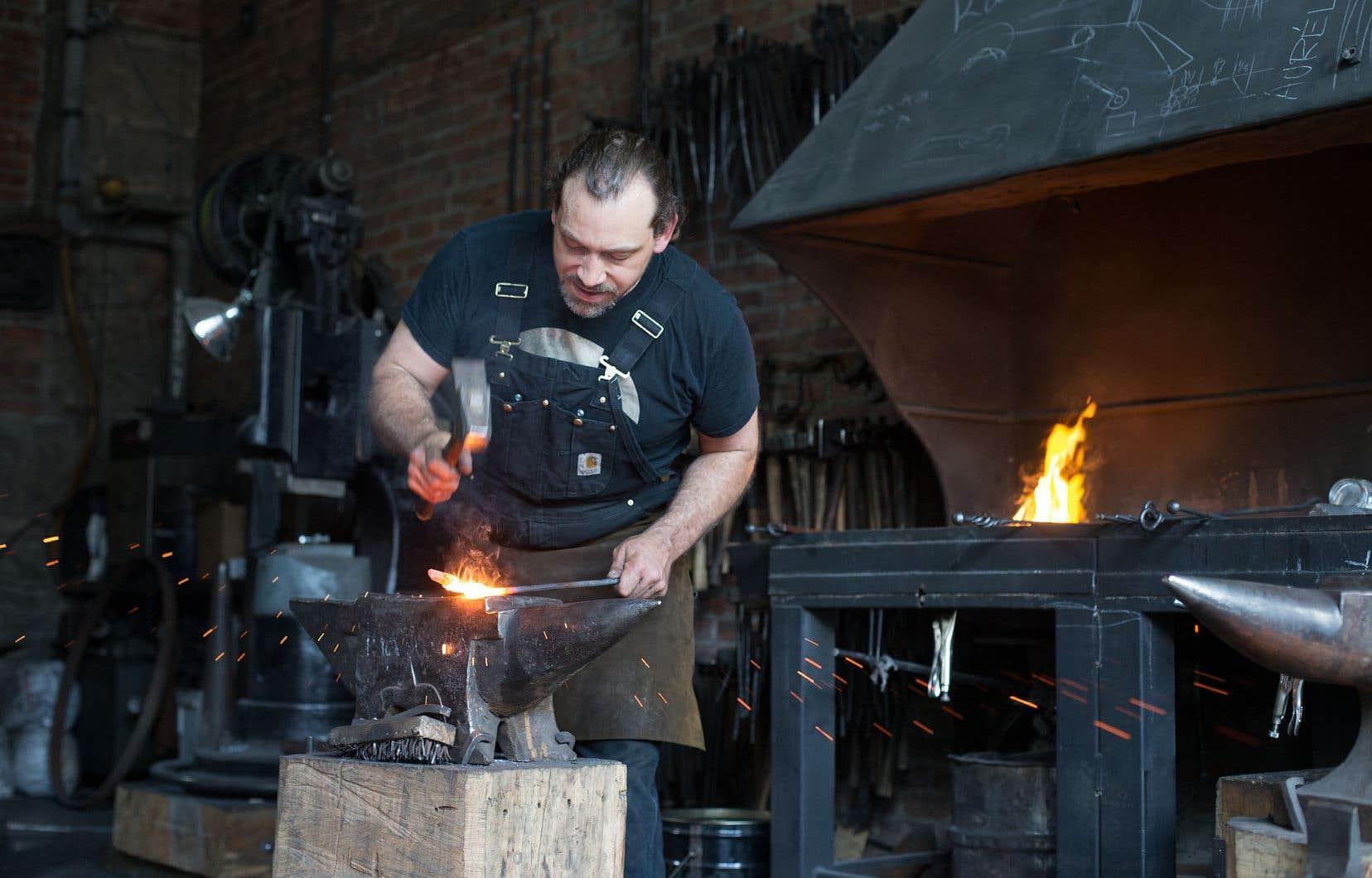 Les Forges de Montréal ont été fondées il y a 19 ans pour assurer la transmission de cet art millénaire.