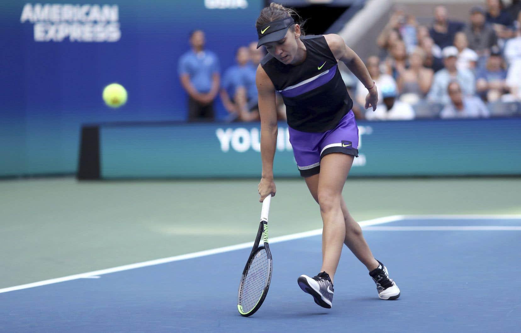 Simona Halep a été défaite en trois manches contre une qualifiée, Taylor Townsend.