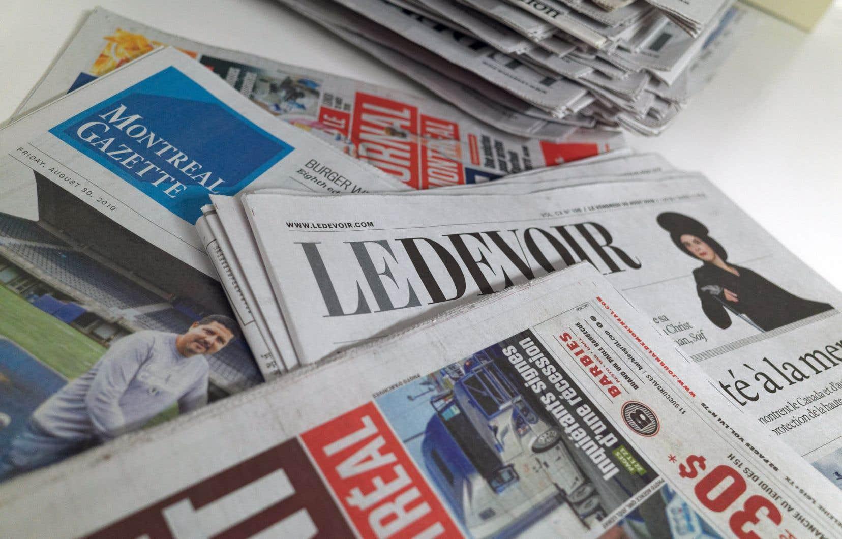 La commission avait pour mandat de proposer des mesures pour assurer la survie des médias, aux prises avec une crise financière sans précédent.