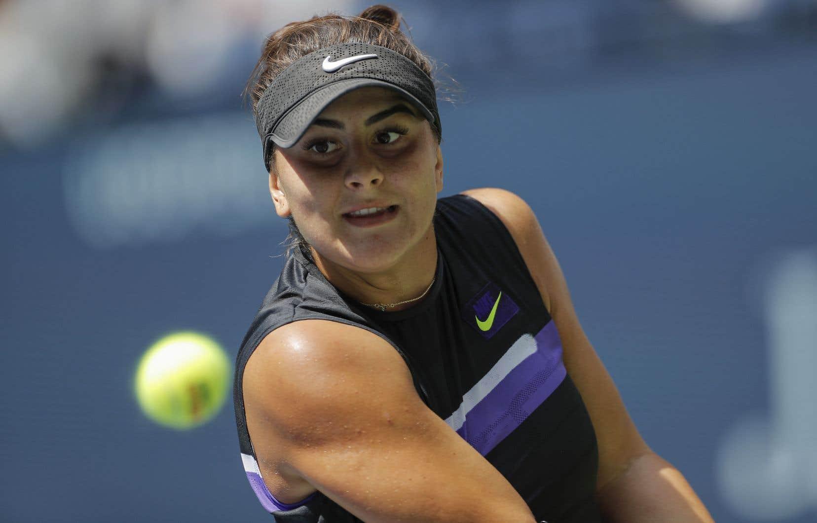 La Canadienne Bianca Andreescu est la 15e tête de série du tournoi.