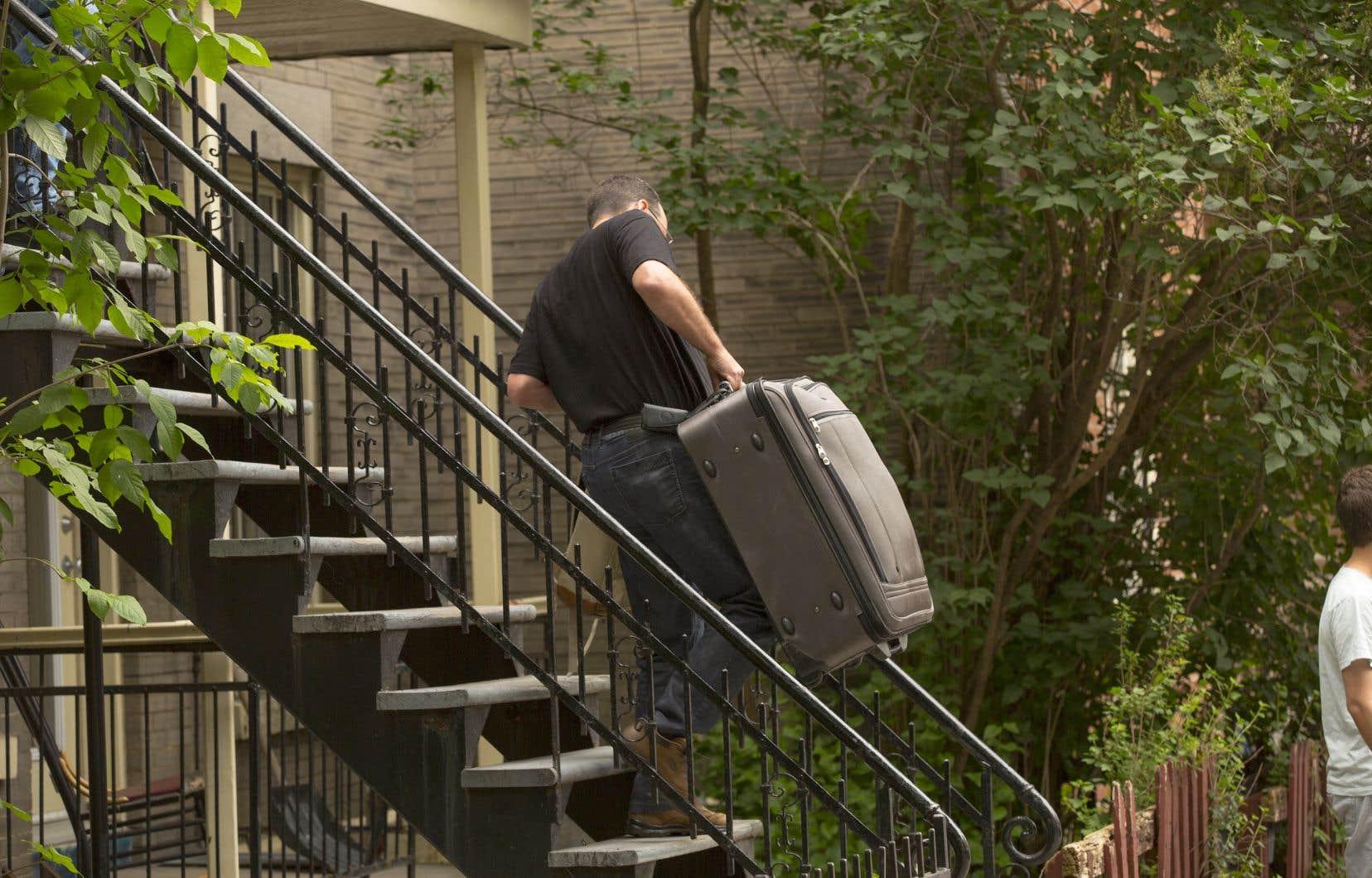 Plusieurs personnes ont été expulsées de leur logement pour des motifs de rénovation.