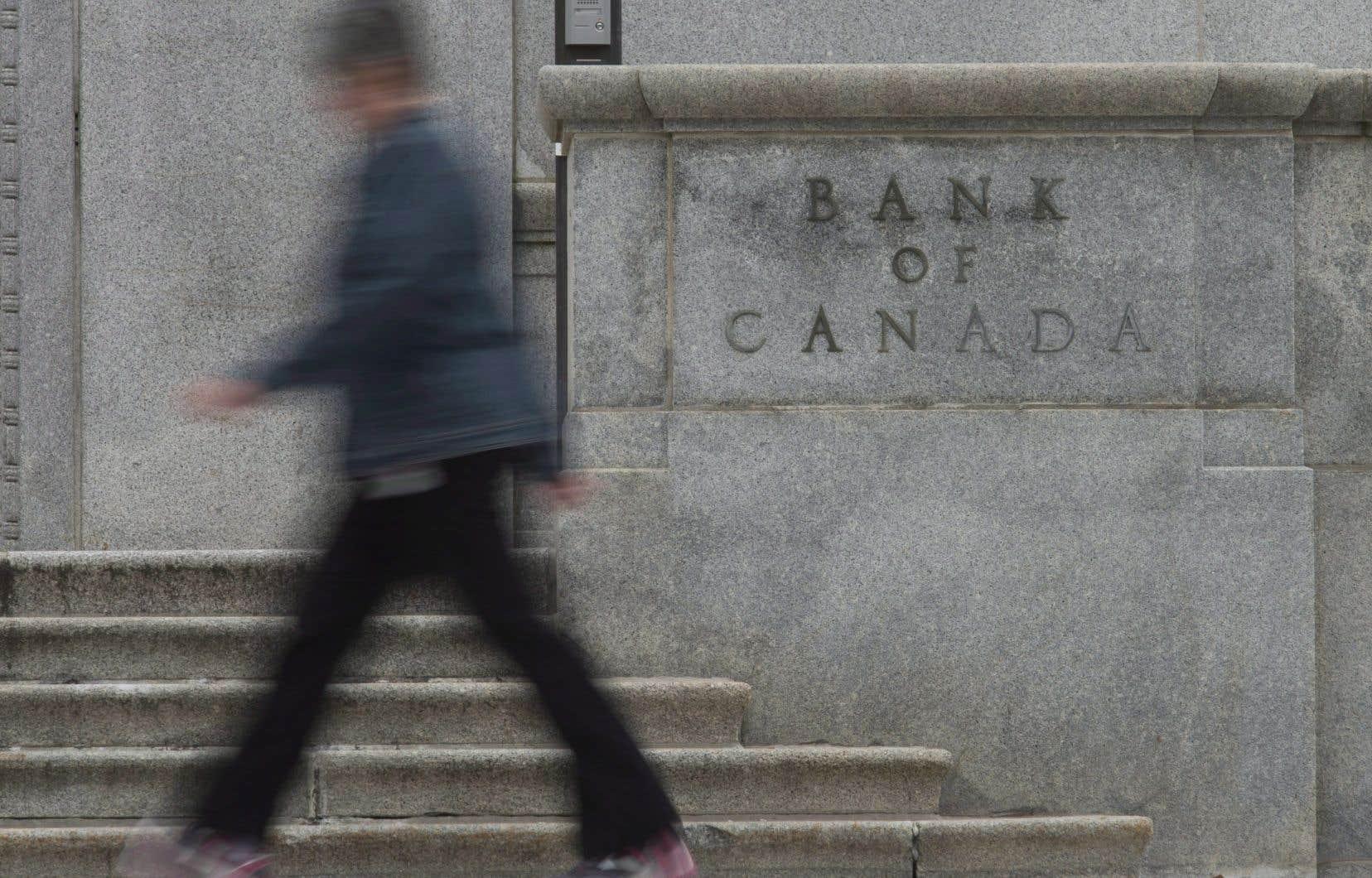 La Banque du Canada réduira son taux directeur de 1,75% à 1,25% avant janvier 2020, prédit la TD.