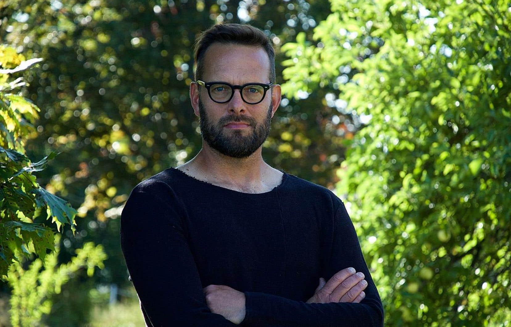 Le cinéaste et militant écologiste Hugo Latulippe