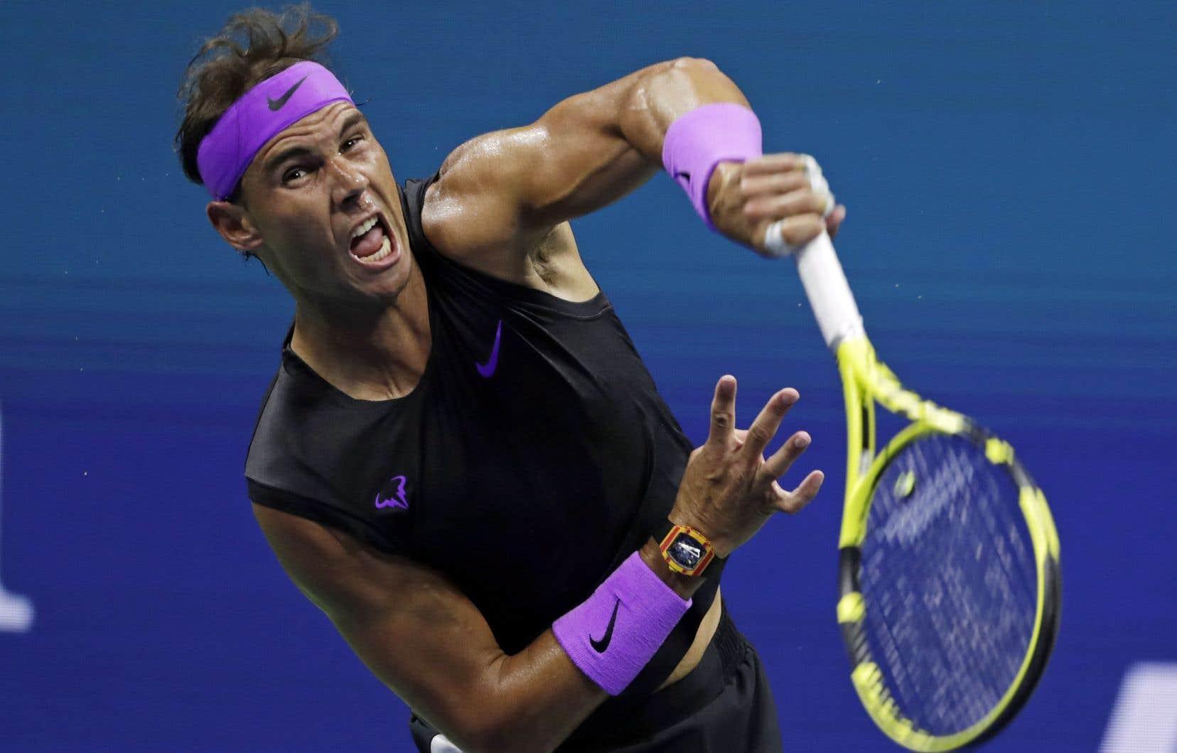 Rafael Nadal a atteint les demi-finales des quatre tournois du Grand Chelem en 2019.