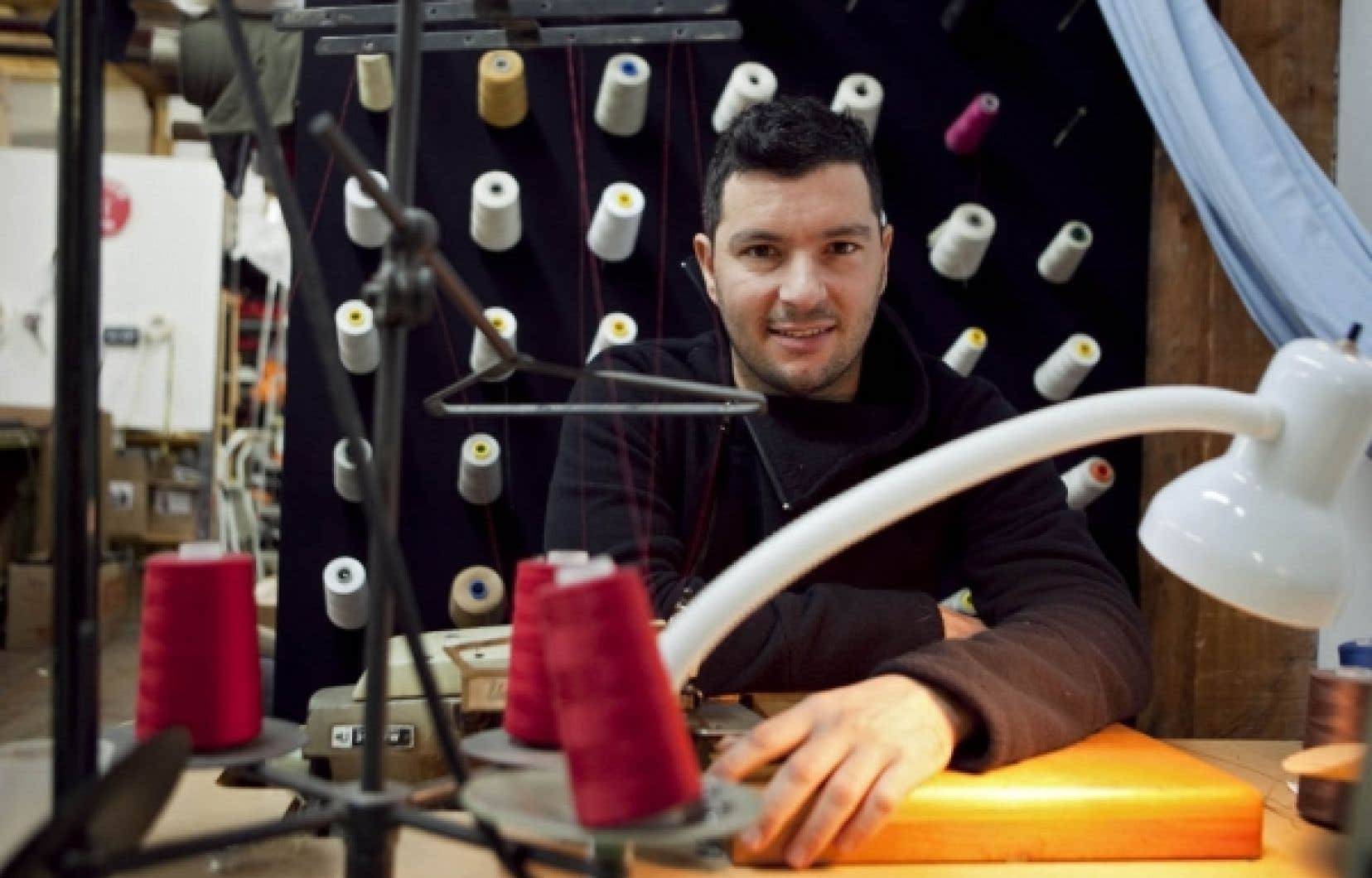 Pascal Benaksas-Couture propose des v&ecirc;tements en coton biologoque.<br />