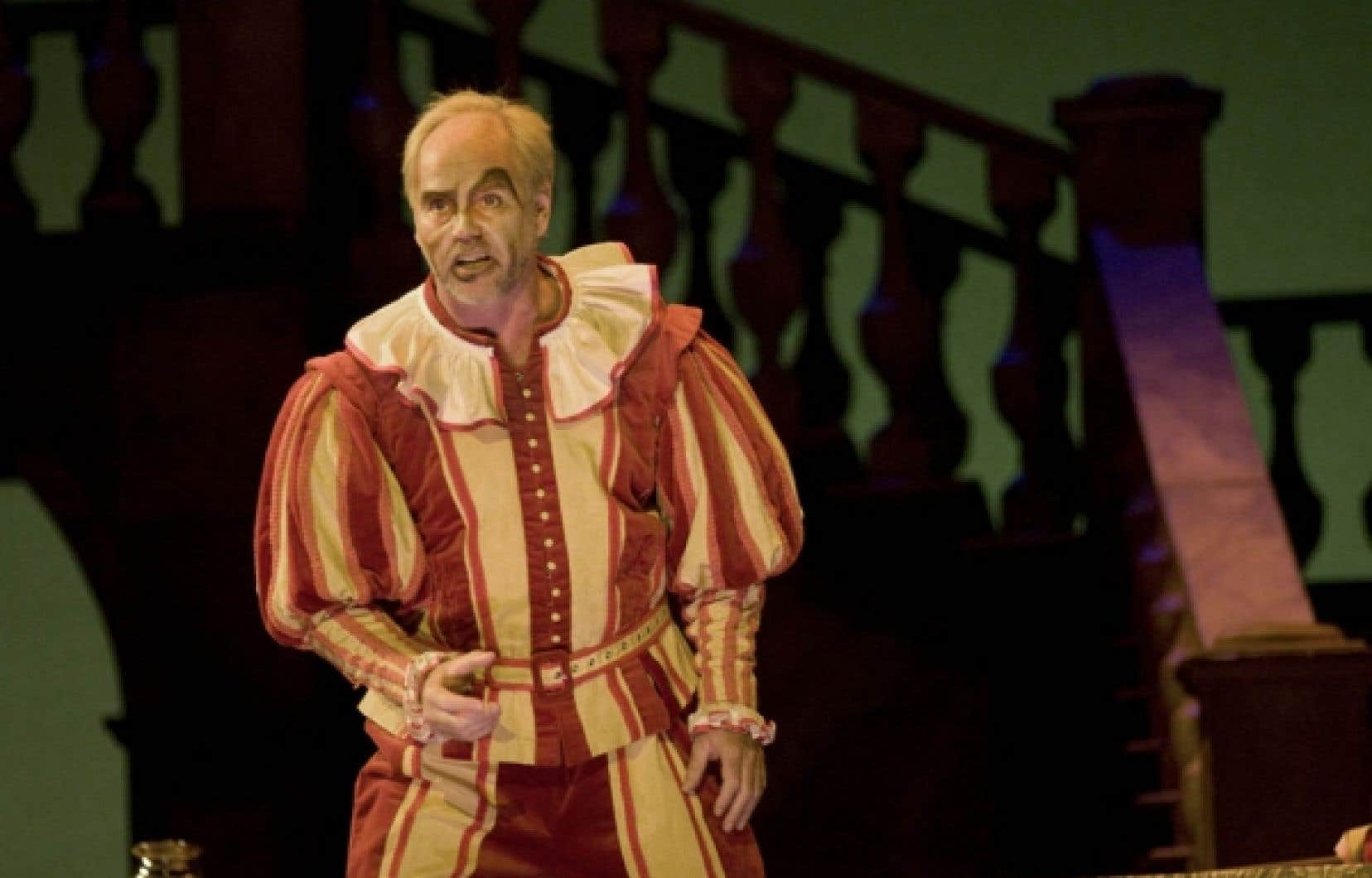 Anthony Michaels-Moore dans le r&ocirc;le-titre de l&rsquo;op&eacute;ra Rigoletto, de Verdi, pr&eacute;sent&eacute; &agrave; l&rsquo;Op&eacute;ra de Montr&eacute;al<br />