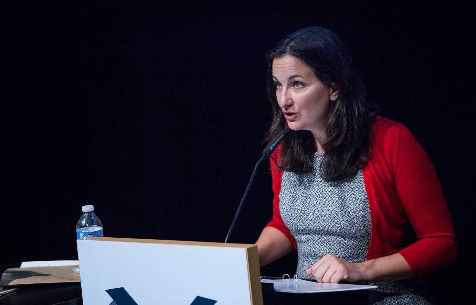 L'ancienne ministre de la Culture et de Communications, Marie Montpetit, est désormais d'avis que sa collègue Dominique Anglade saura mieux qu'elle insuffler «un vent de renouveau au sein de notre parti».