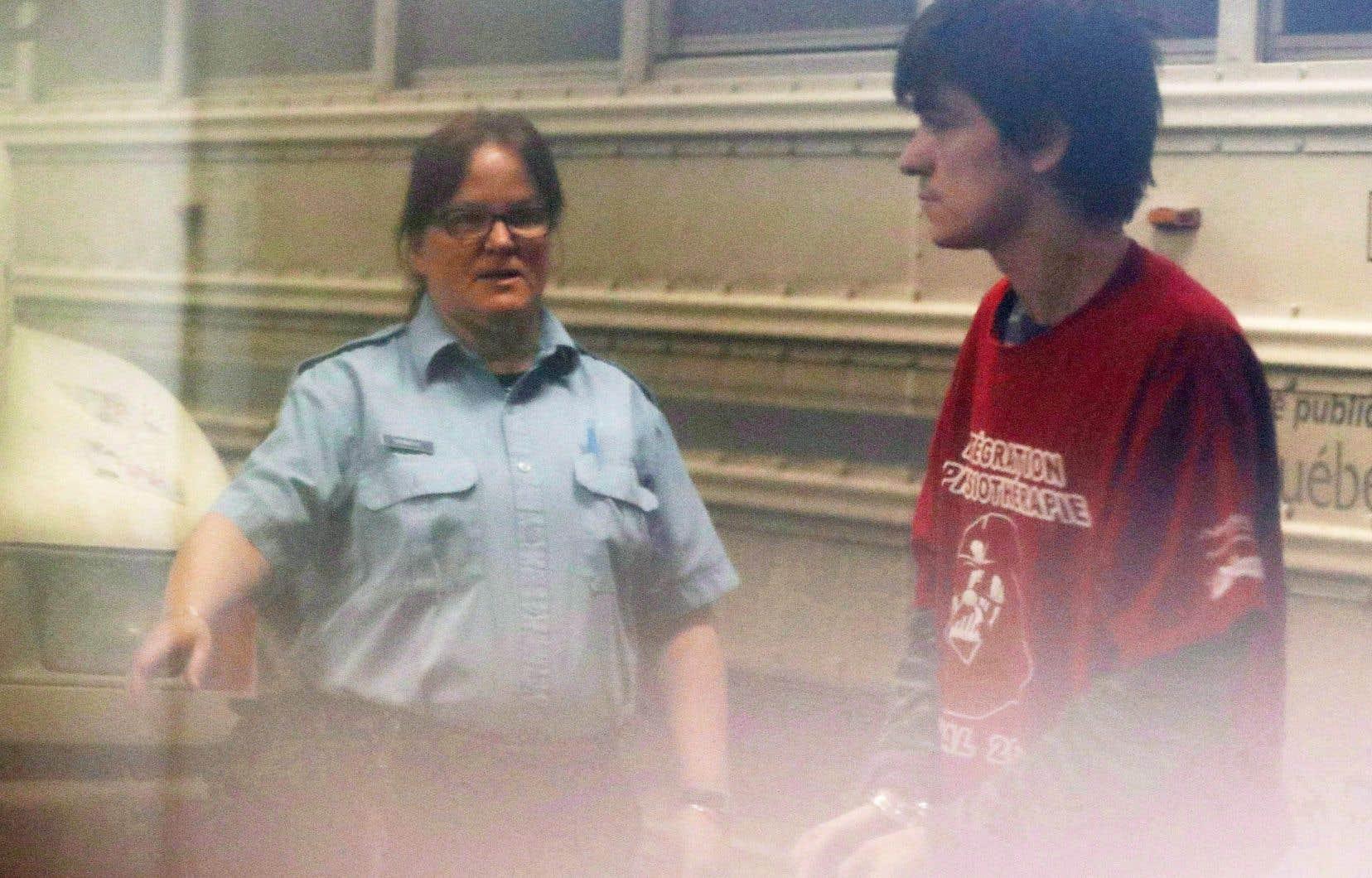 AlexandreBissonnette a été condamné à la prison à perpétuité sans possibilité de libération conditionnelle avant 40 ans.