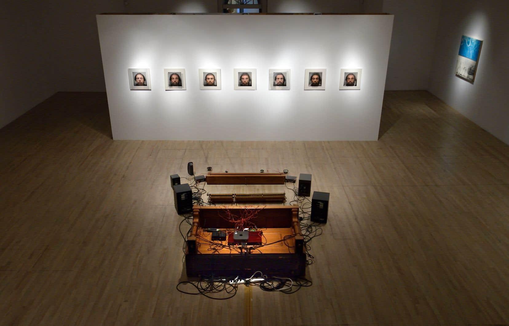 Vue d'ensemble de l'exposition «Conjonctures»