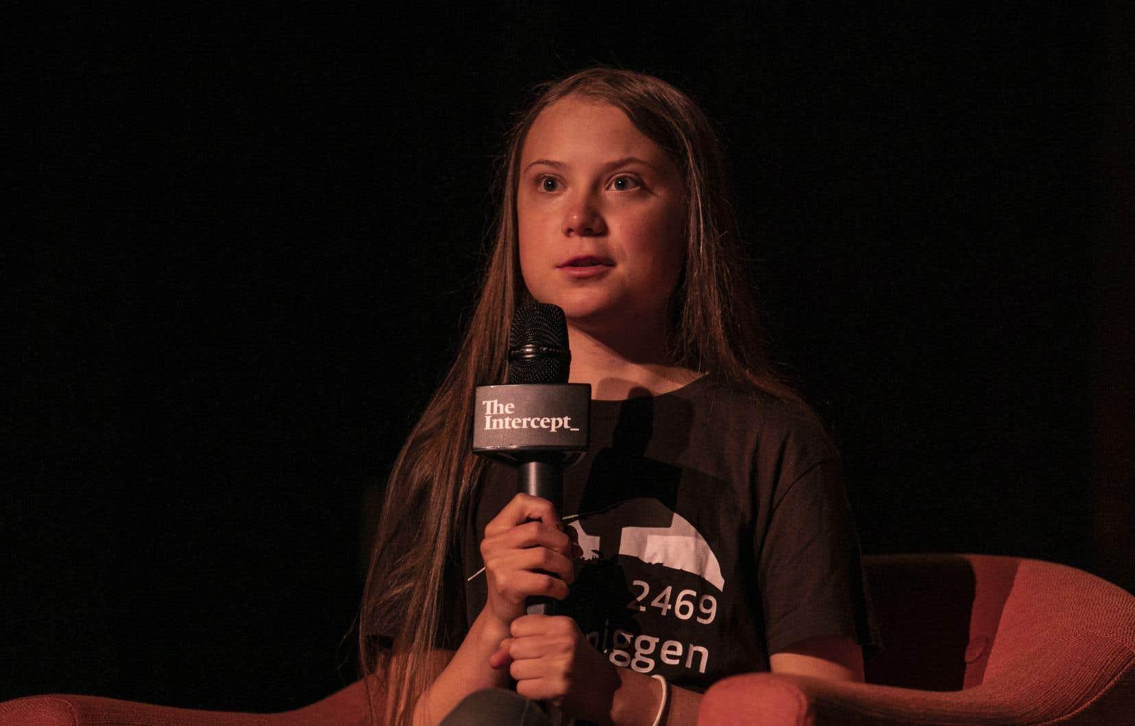 La militante écologiste Greta Thunberg pourra s'entretenir en privé avec le président de l'Assemblée nationale, François Paradis, mais pas à l'ensemble des élus du Salon bleu.