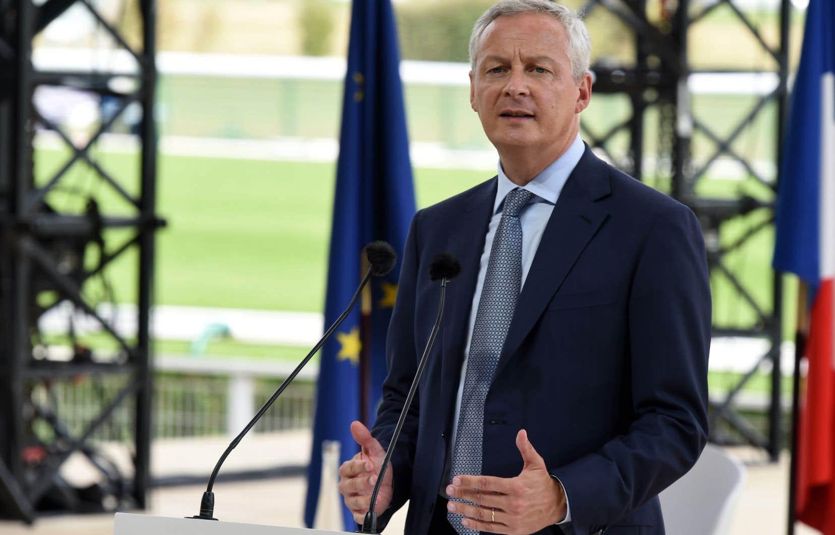 Le ministre des Finances français, Bruno Le Maire,n'a pas hésité à qualifier de «systémiques» les risques que pourrait entraîner cette «privatisation éventuelle d'une monnaie […] détenue par un seul acteur qui a plus de 2milliards d'utilisateurs sur la planète».
