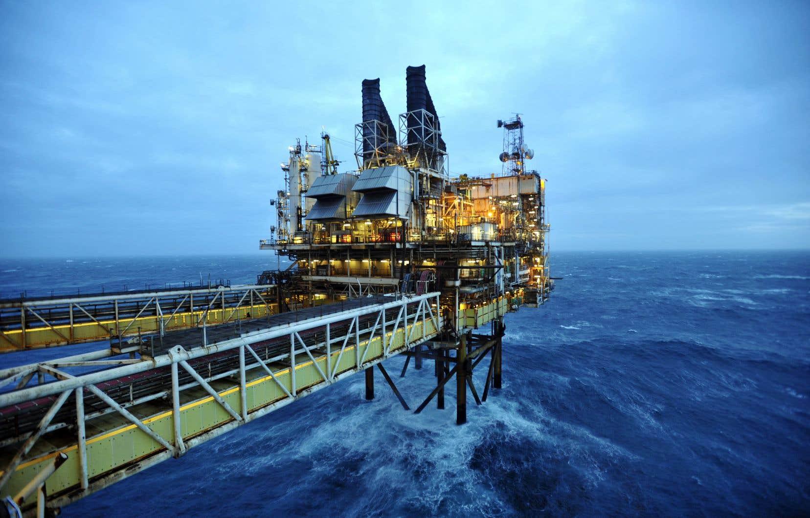 La plateforme du Eastern Trough Area Project, de BP, dans la mer du Nord