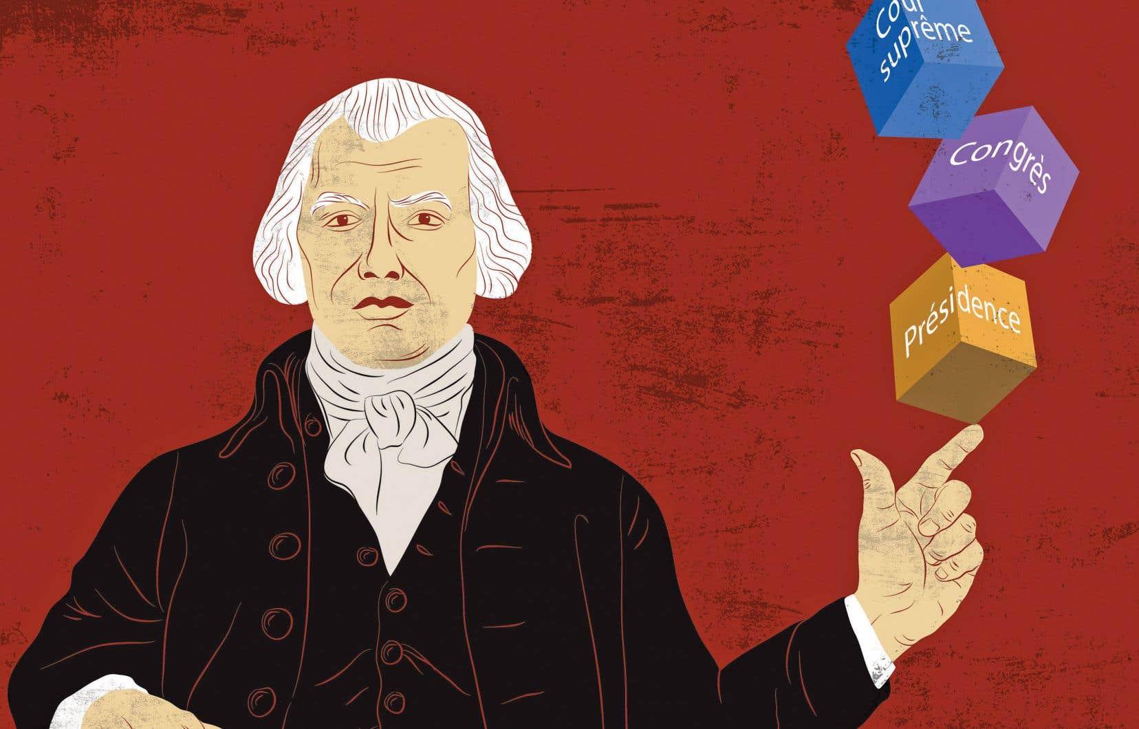L'ouvrage «The Federalist Papers» est un recueil de 77 lettres que James Madison (notre illustration), Alexander Hamilton et John Jay publient dans différents journaux américains entre octobre 1787 et avril 1788.