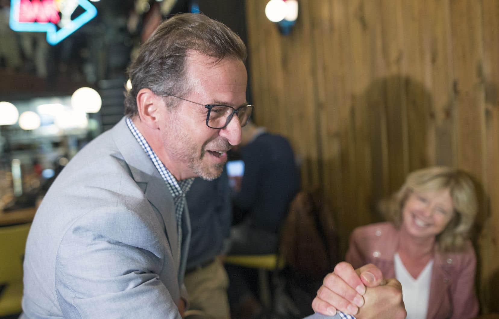 Yves-François Blanchet a lancé mercredi sa campagne électorale, espérant profiter des mêmes vents qui ont permis à la CAQ de rafler une majorité de sièges en octobre dernier.