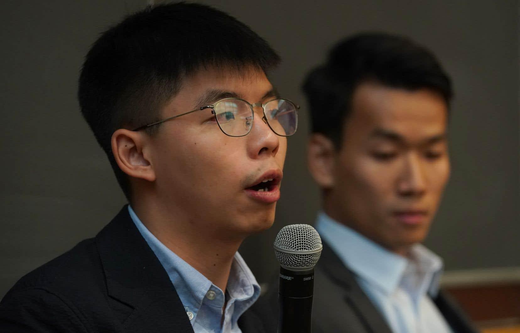 La visite de Joshua Wong aux États-Unis s'inscrit dans le cadre d'une tournée internationale pour rallier des soutiens à la cause des manifestants hongkongais. «L'été de la colère est en train de devenir l'année de la colère», a-t-il affirmé devant quelque 200 étudiants de Columbia.