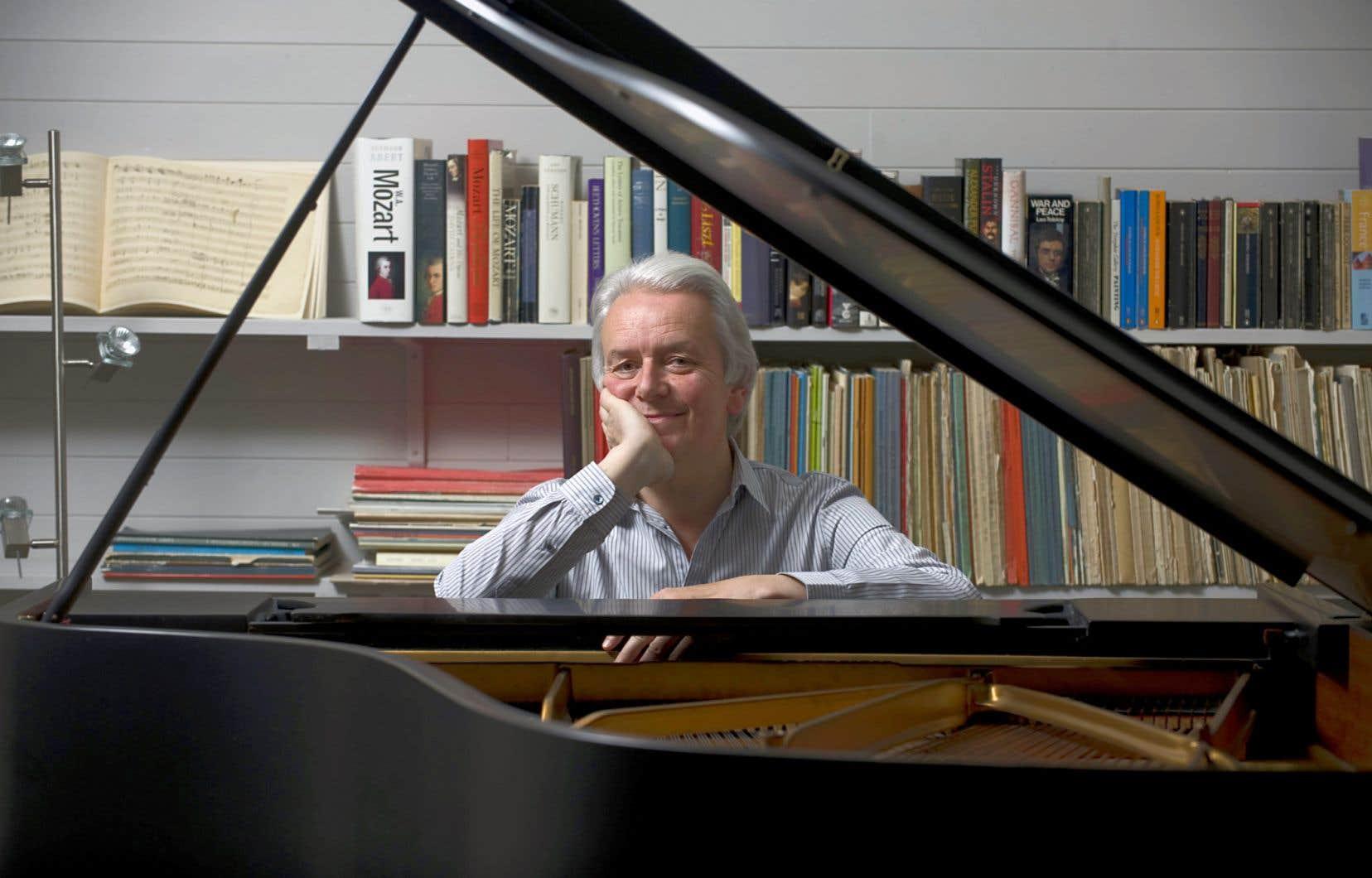 Avec le pianiste britannique Christian Blackshaw, chaque note tombe au bon moment, avec la bonne intensité.
