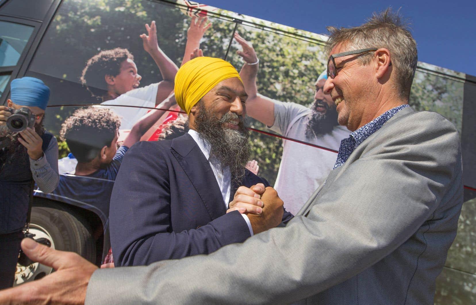 Chef du Parti vert du Québec entre 1994 et 1996, Éric Ferland se joint maintenant à l'équipe du Jagmeet Singh.