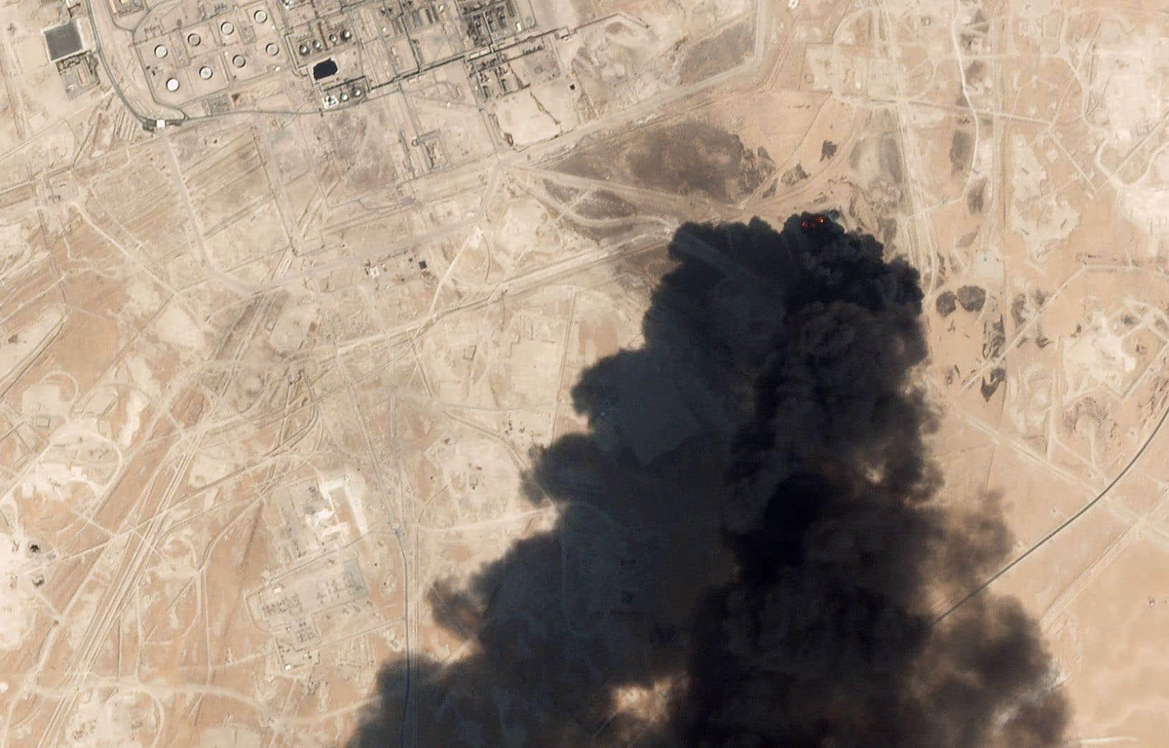 L'usine pétrolière d'Abqaiq, en Arabie saoudite, a été attaquée par des drones envoyés par des rebelles yéménites.