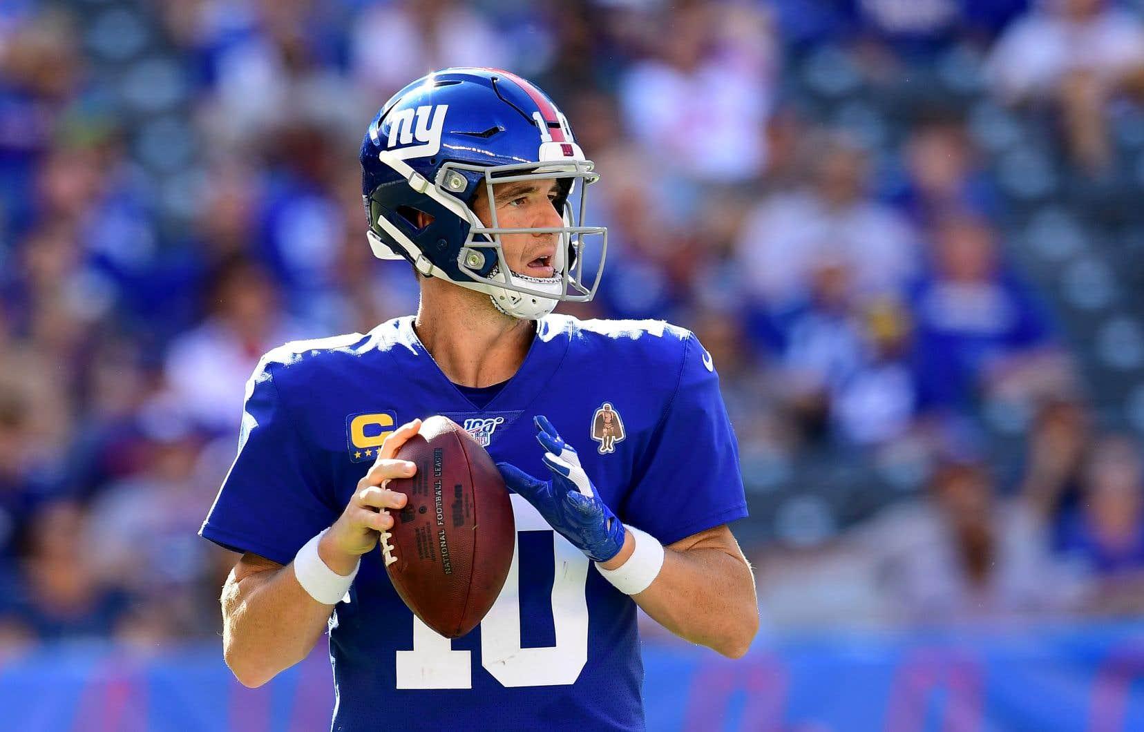 Manning, qui dispute une 16esaison avec les Giants, un record d'équipe, savait qu'un changement représentait une possibilité.