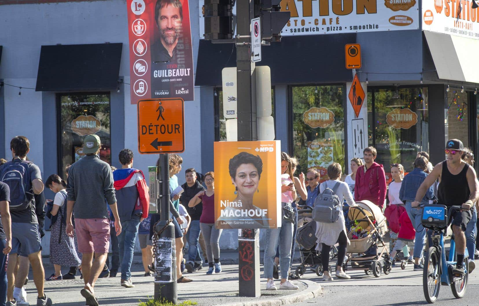 La campagne électorale fédérale a débuté il y a une semaine, il reste donc quatre semaines et demie avant l'élection.