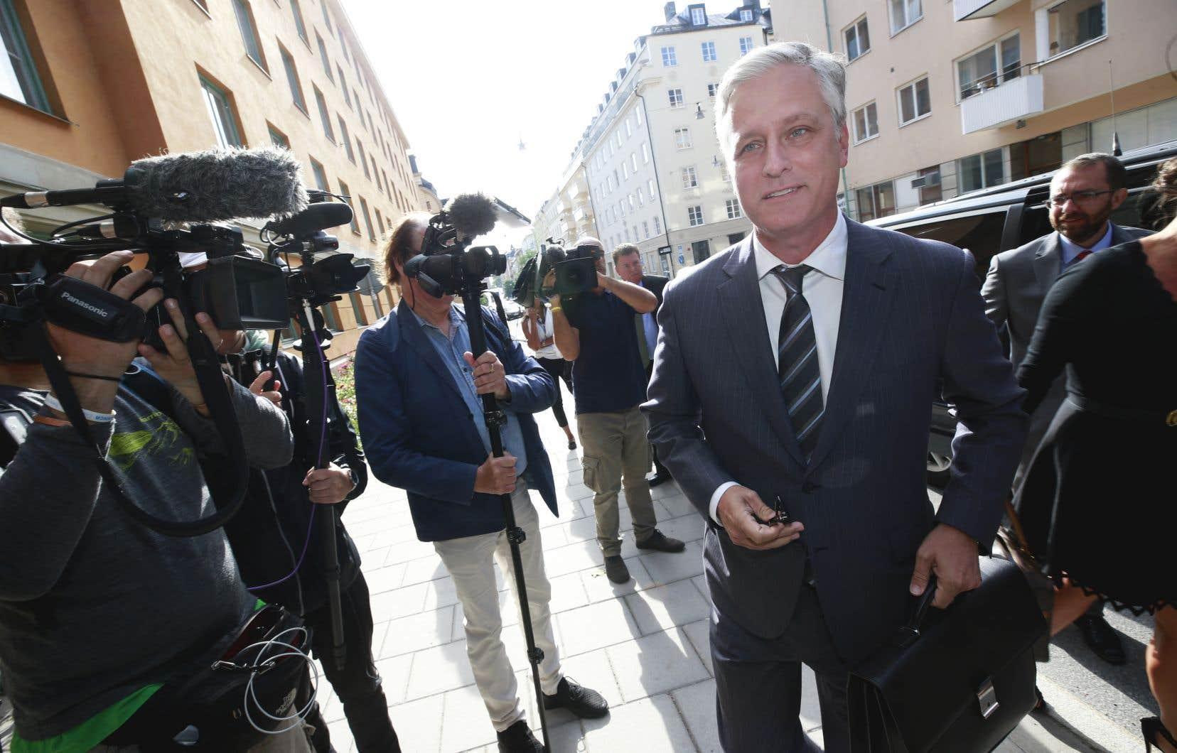 Donald Trump avait aussi créé la surprise en juillet en dépêchant Robert O'Brien, pourtant chargé des otages, au procès pour violences en Suède du rappeur américain A$AP Rocky.