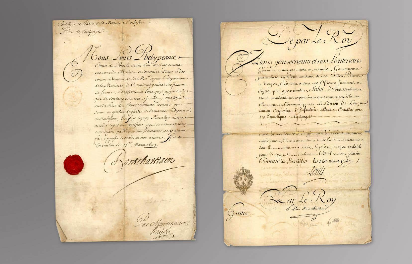 De très rares documents manuscrits qui concernent l'histoire de la Nouvelle-France seront mis aux enchères prochainement.