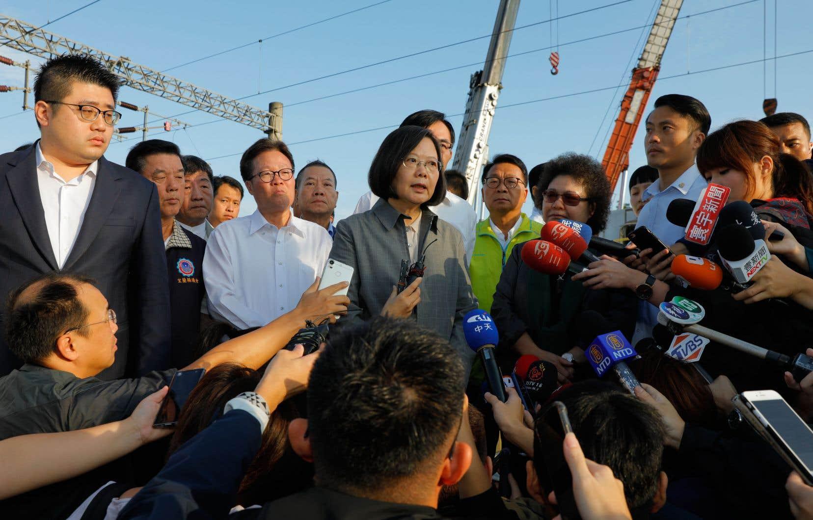 La présidente de Taïwan, Tsai Ing-wen, tentera de se faire réélire à la tête du pays en janvier prochain.