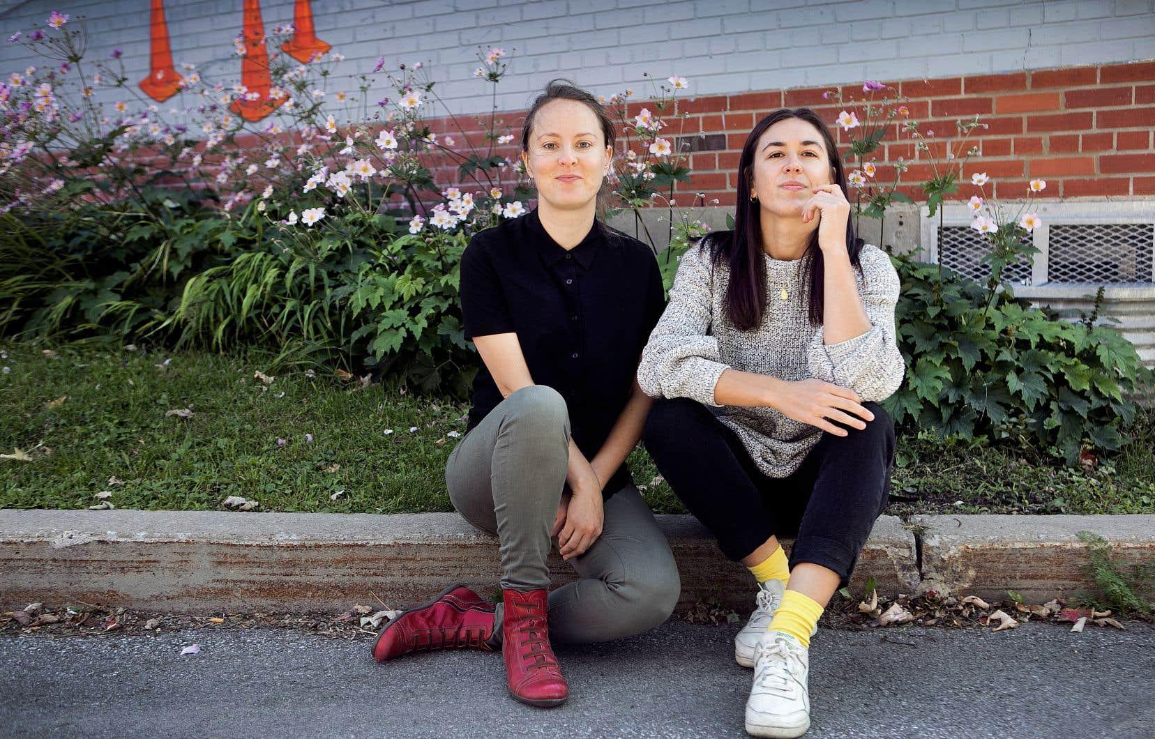 Si Marie Parent (à gauche) est à «Liberté» depuis un peu plus de six ans, Aurélie Lanctôt, aussi chroniqueuse au «Devoir», est arrivée à la direction de ce périodique au printemps dernier.