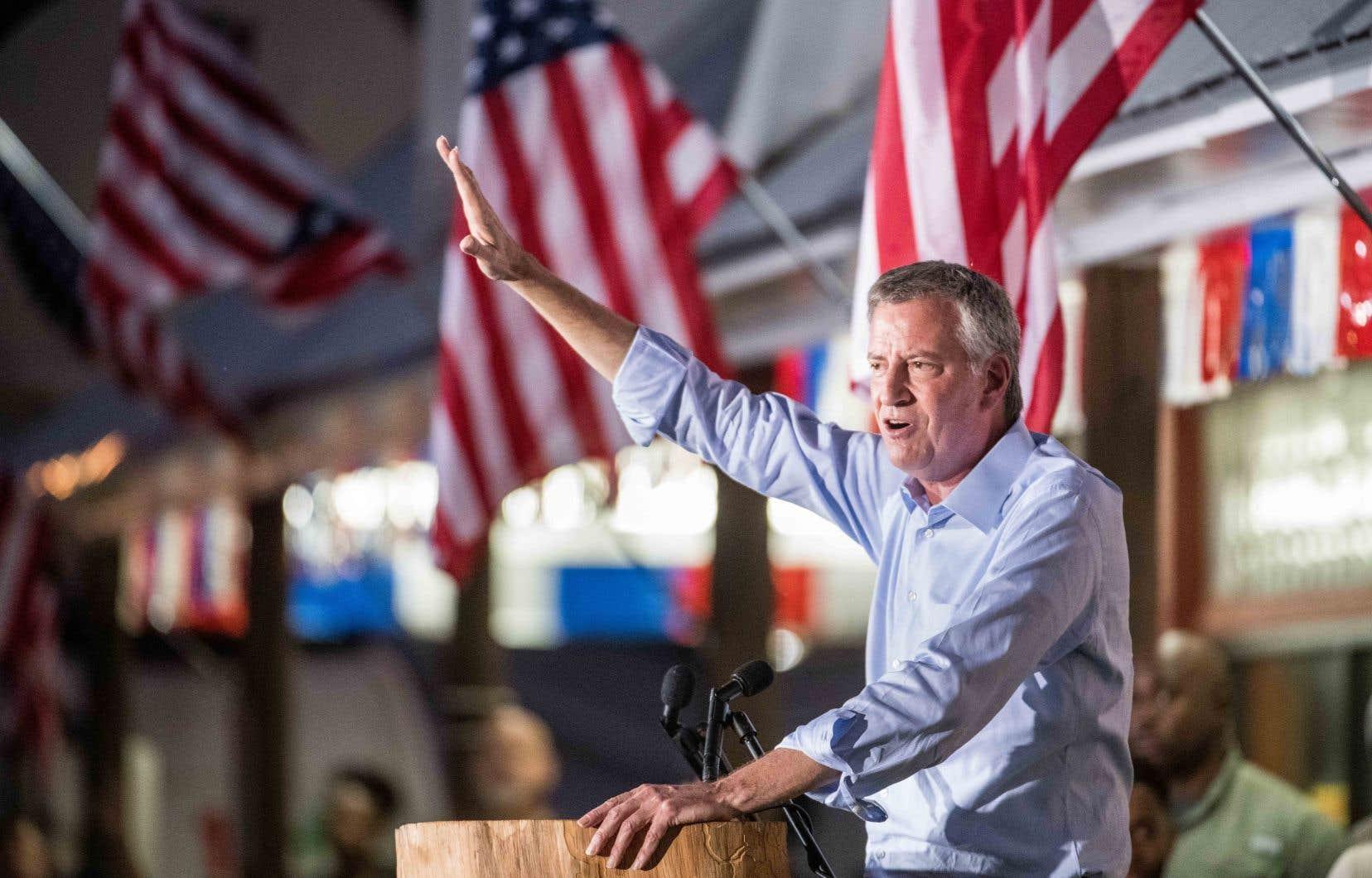Le maire de New York,Bill de Blasio