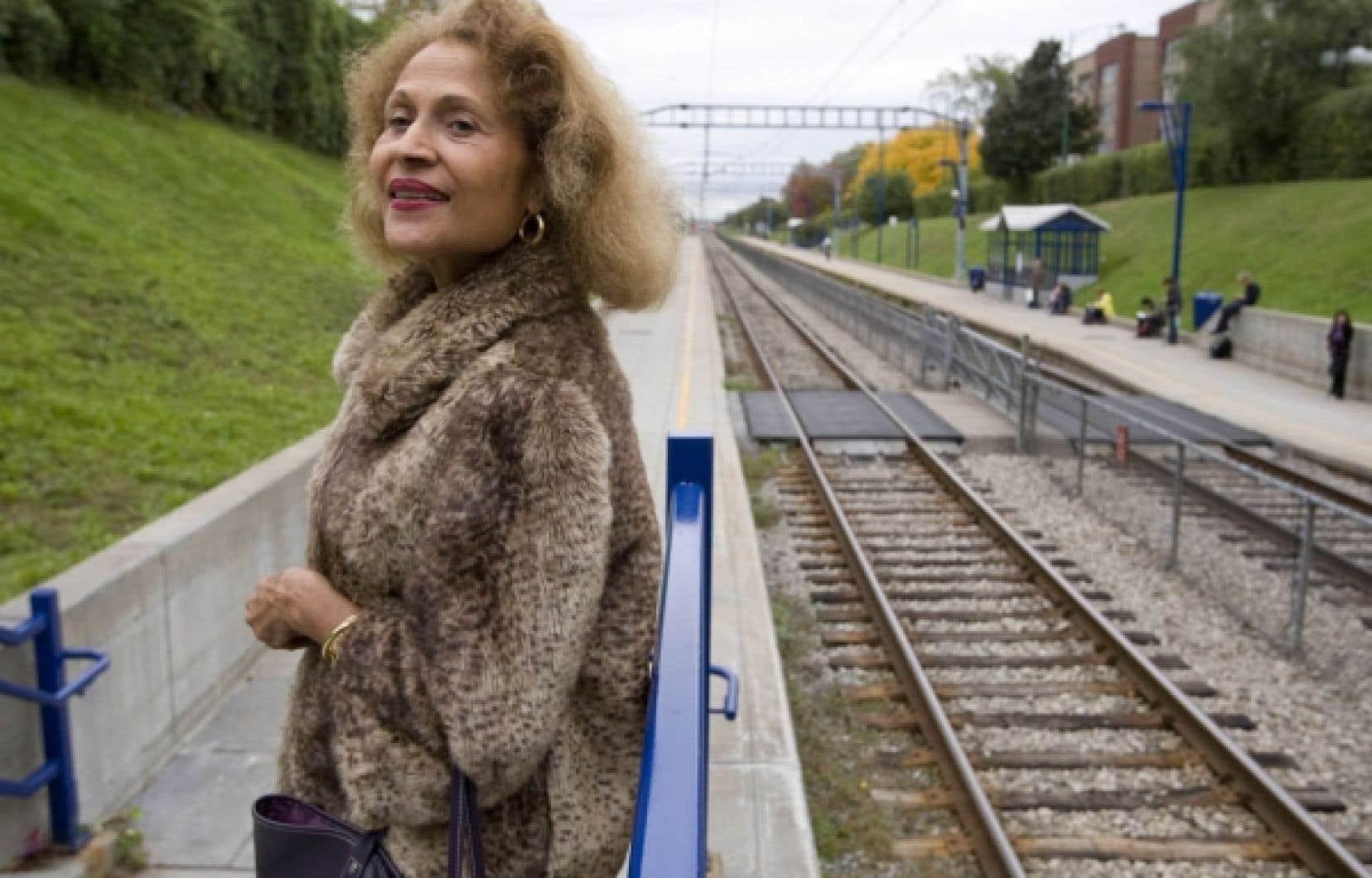 Suzanne Dracius, poète, dramaturge et romancière martiniquaise <br />