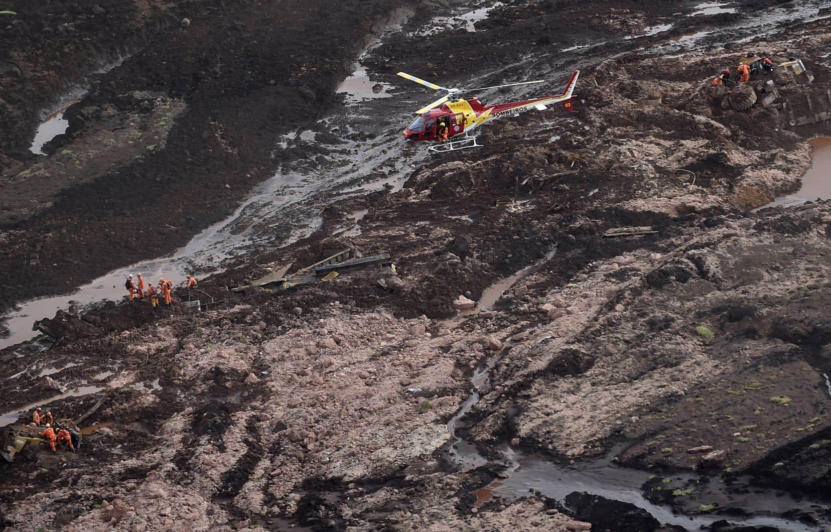 La rupture d'un barrage de la minière brésilienne Vale, le 25 janvier dernier, a fait au moins 270 morts et disparus.