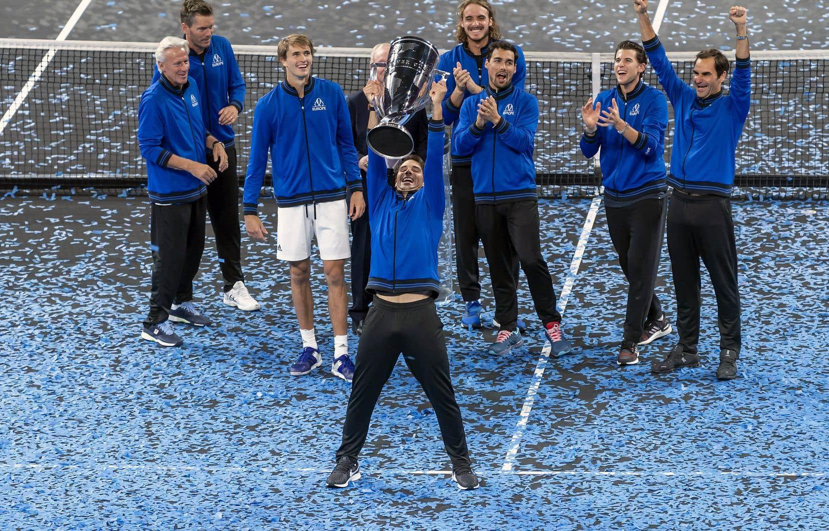 L'Europe avait aussi remporté les deux premières représentations de la Coupe Laver. Elles avaient eu lieu à Prague, en 2017, et à Chicago, l'an dernier.
