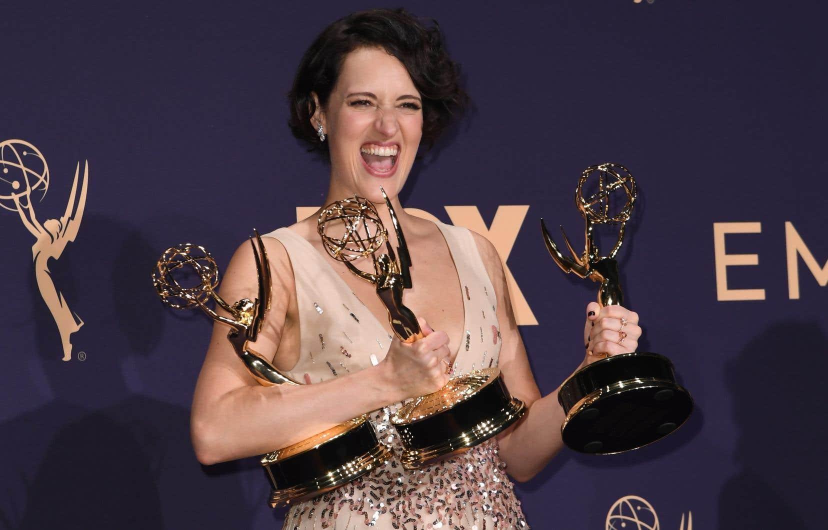 Phoebe Waller-Bridge, créatrice et actrice principale de la série «Fleabag», a causé la surprise aux Emmy en remportant trois prix.