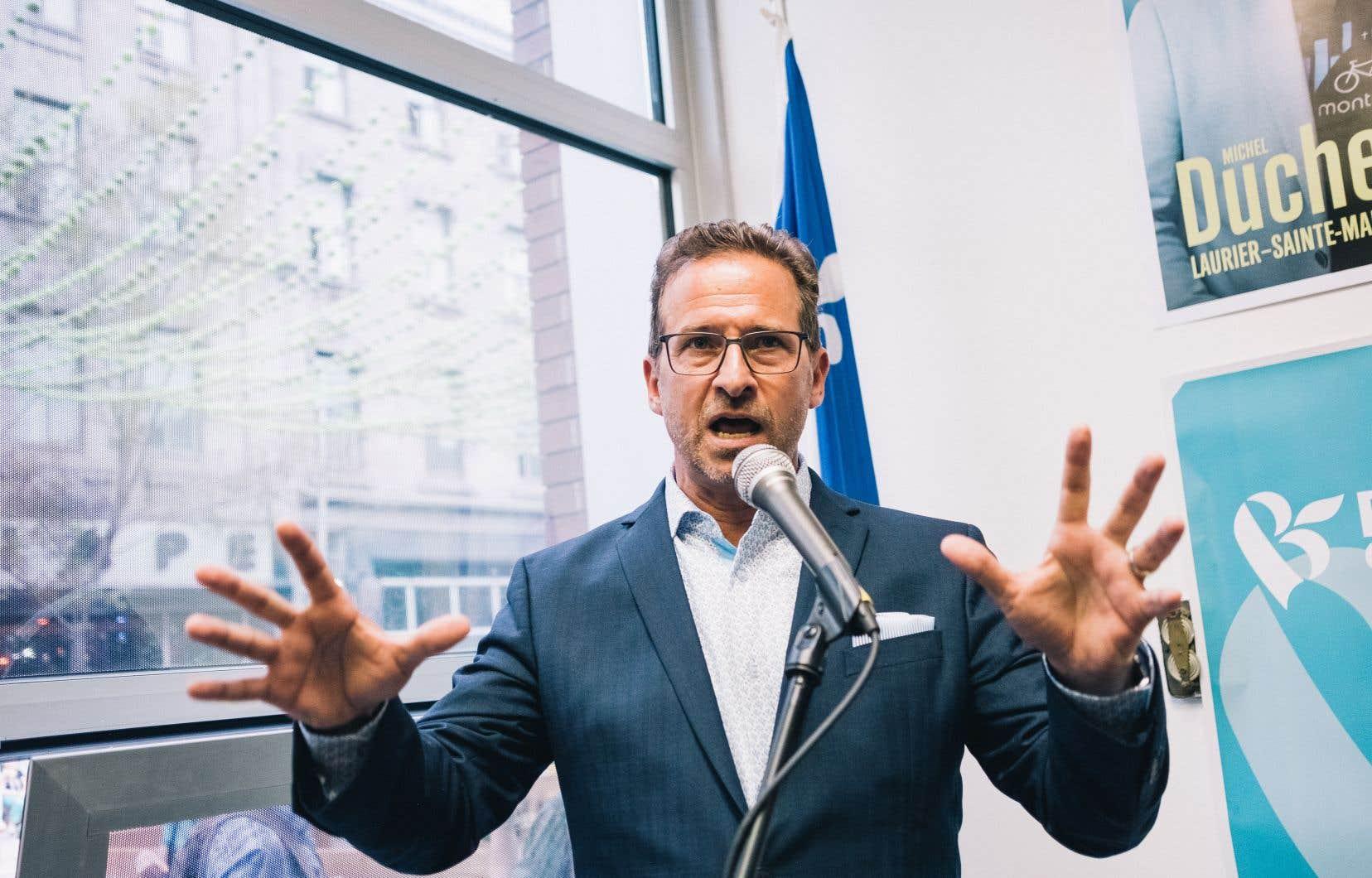 Yves-François Blanchet voit son arrivée au Bloc québécois comme l'occasion «d'accrocher l'environnement à l'idée d'indépendance.»