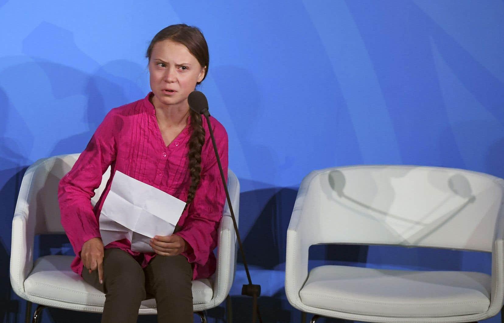 Greta Thunberg s'est adressée aux dirigeants du monde dans un discours à l'ONU. «Si vous choisissez de nous trahir, nous ne vous pardonnerons jamais», a notamment prévenu la jeune égérie du climat.