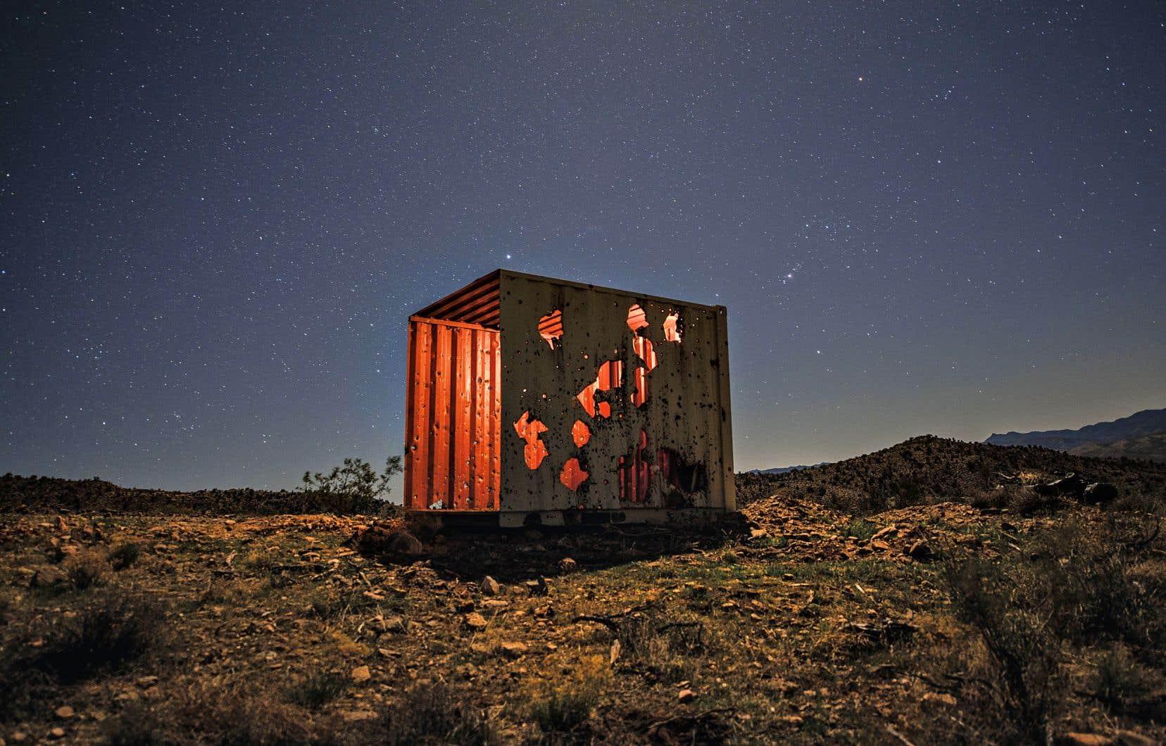 Jean-François Bouchard a passé de longs moments dans le désert de l'Arizona, avec la communauté qu'il a photographiée.