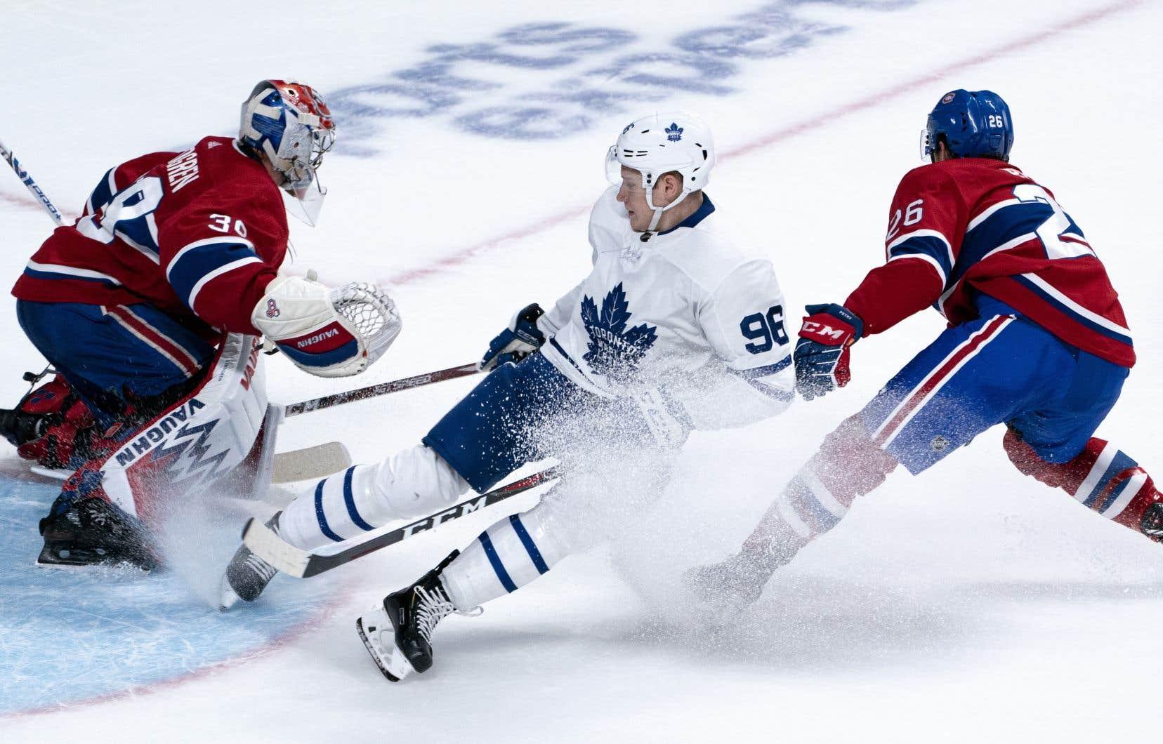 Yegor Korshkov desMaple Leafsa réussi un doublé.